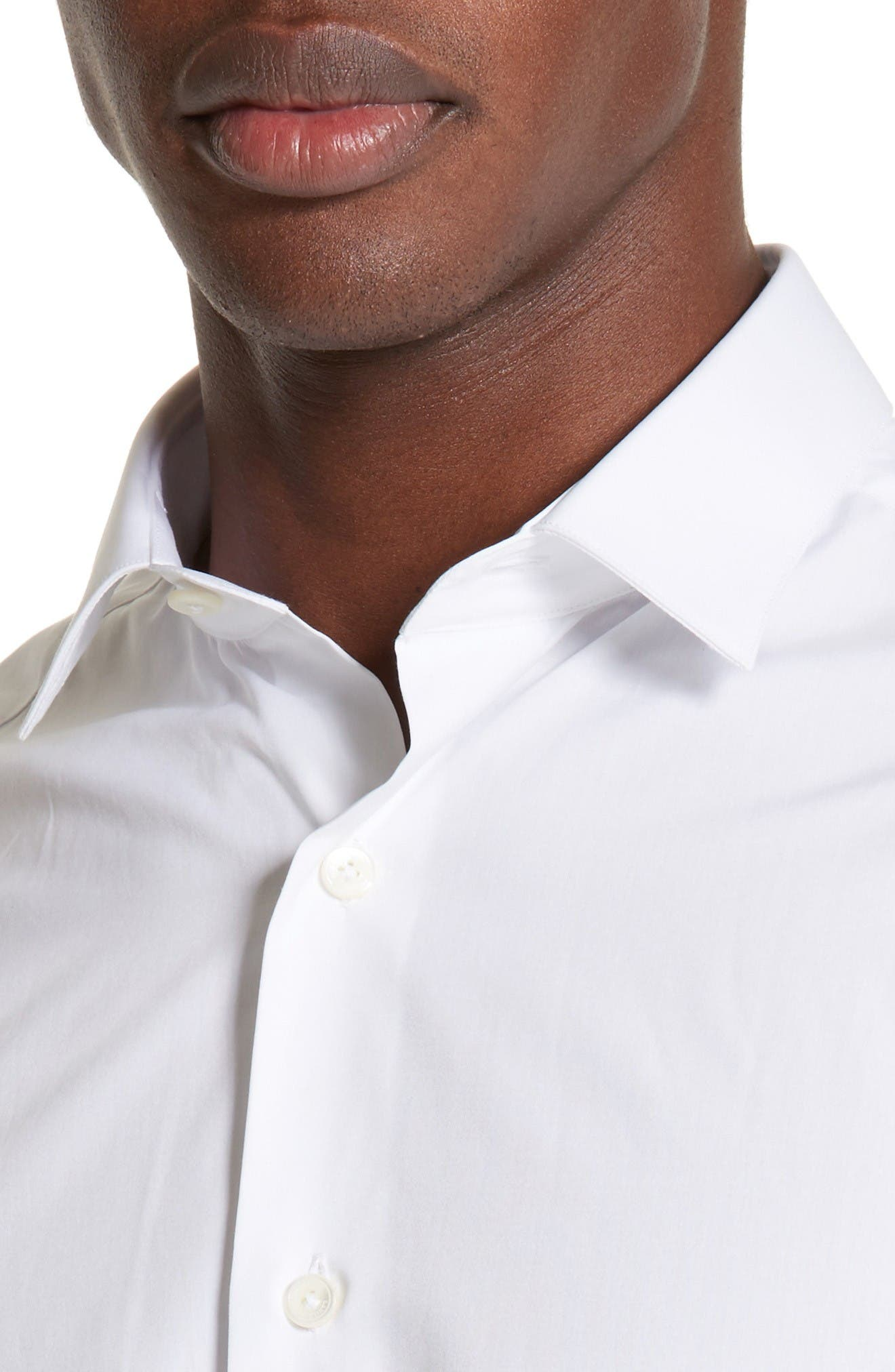 Alternate Image 4  - Lanvin Extra Trim Fit Cotton Dress Shirt