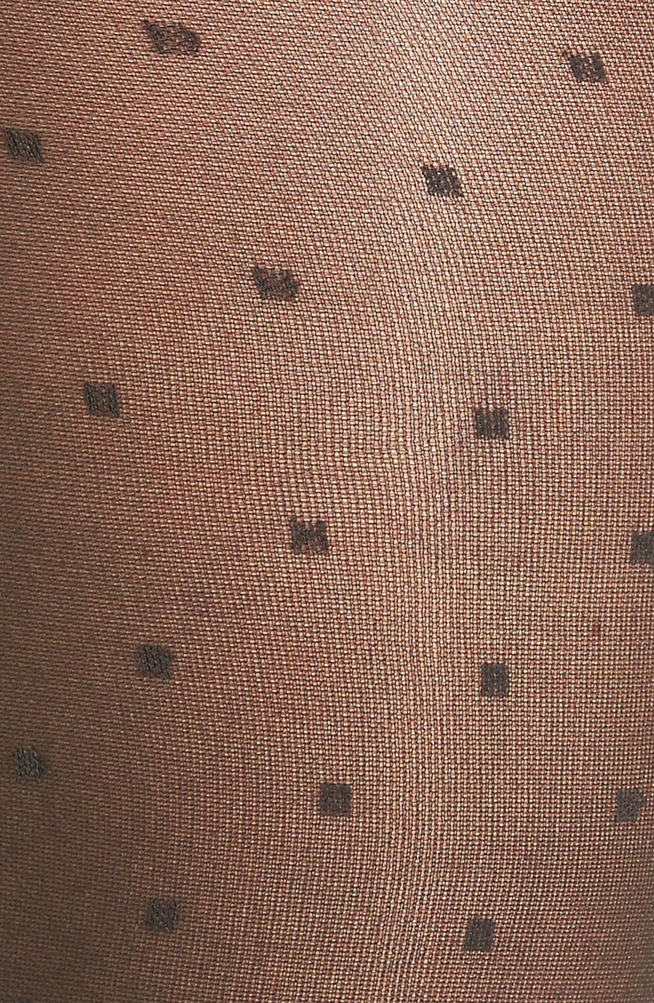 Polka Dottie Tights,                             Alternate thumbnail 2, color,                             Black