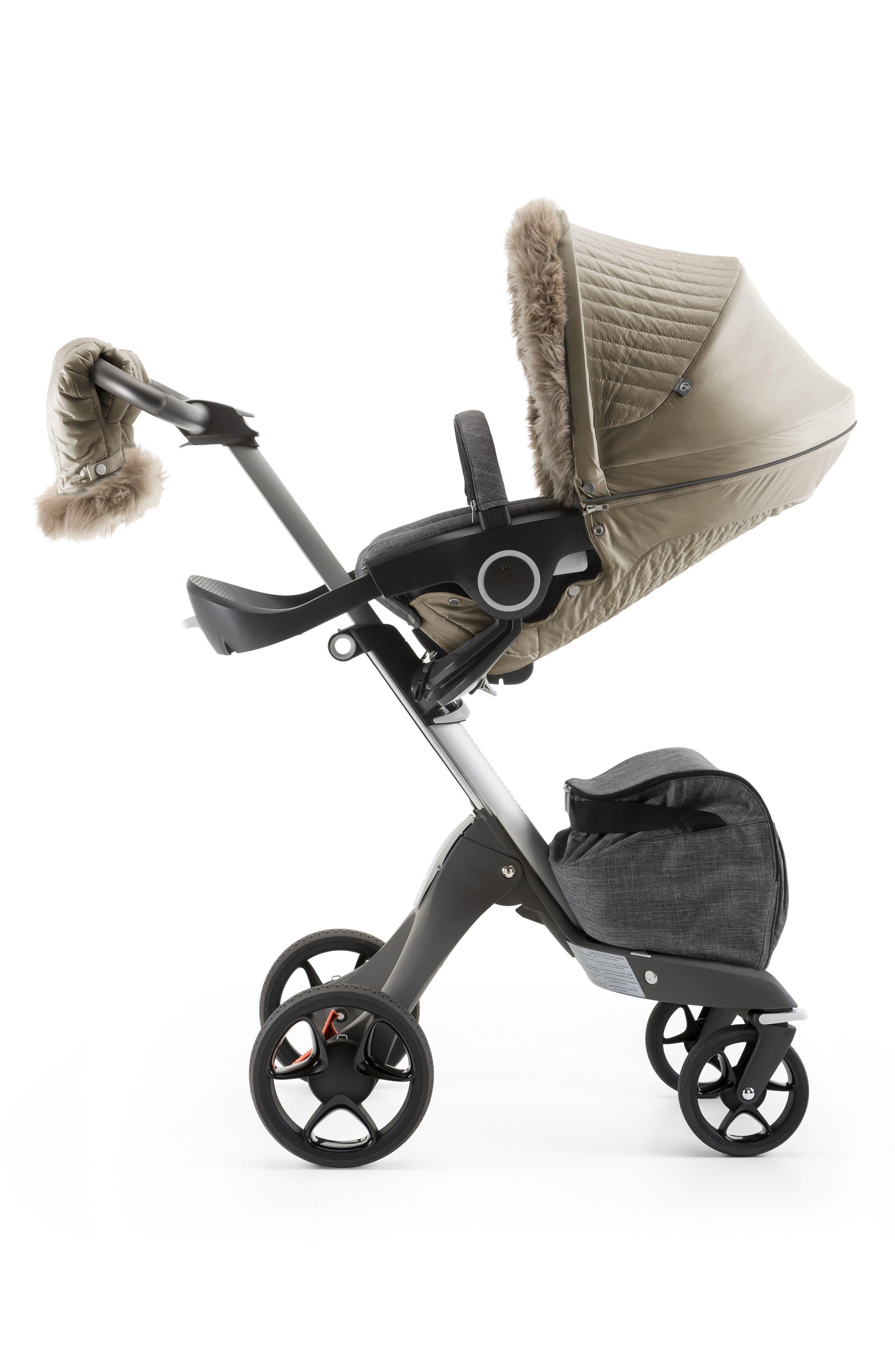 Stroller Winter Kit,                         Main,                         color, Bronze Brown