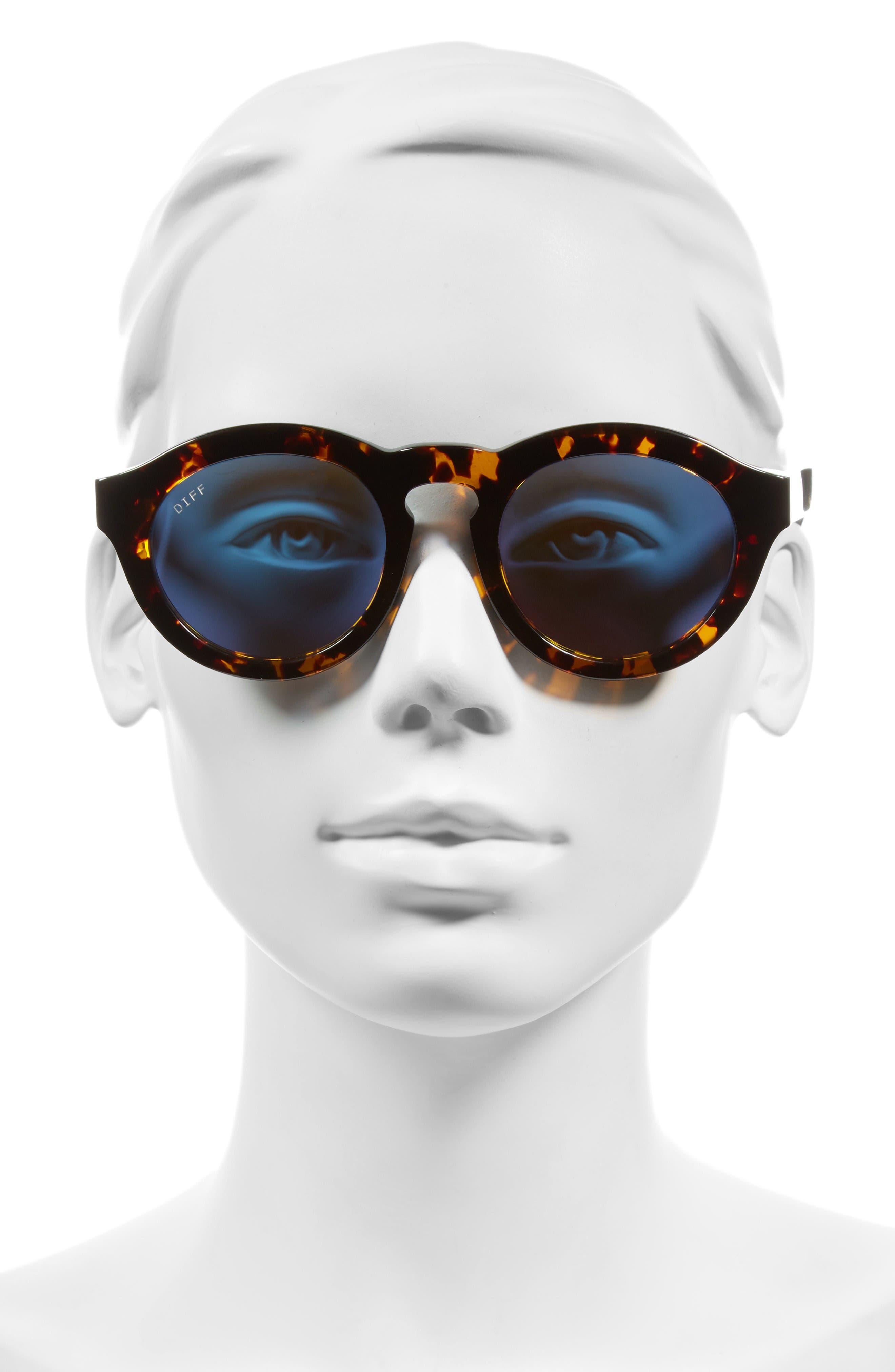 Alternate Image 2  - DIFF Dime 48mm Retro Sunglasses