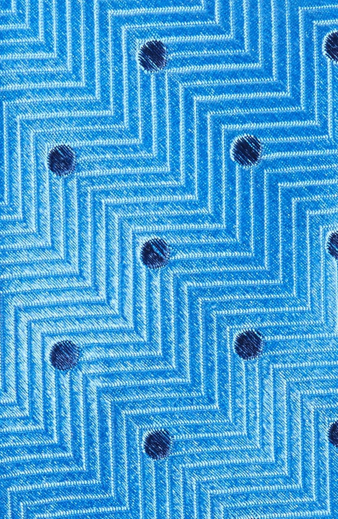Alternate Image 2  - Nordstrom Men's Shop Confetti Dot Silk Tie