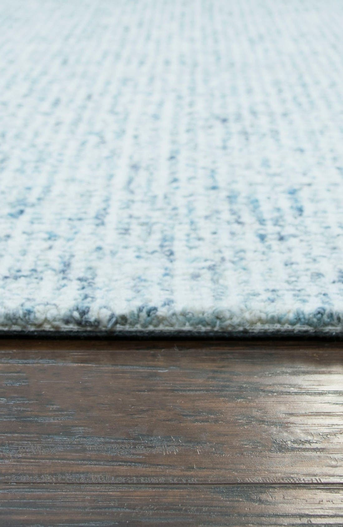 Bramble Hand Tufted Wool Area Rug,                             Alternate thumbnail 3, color,                             Blue