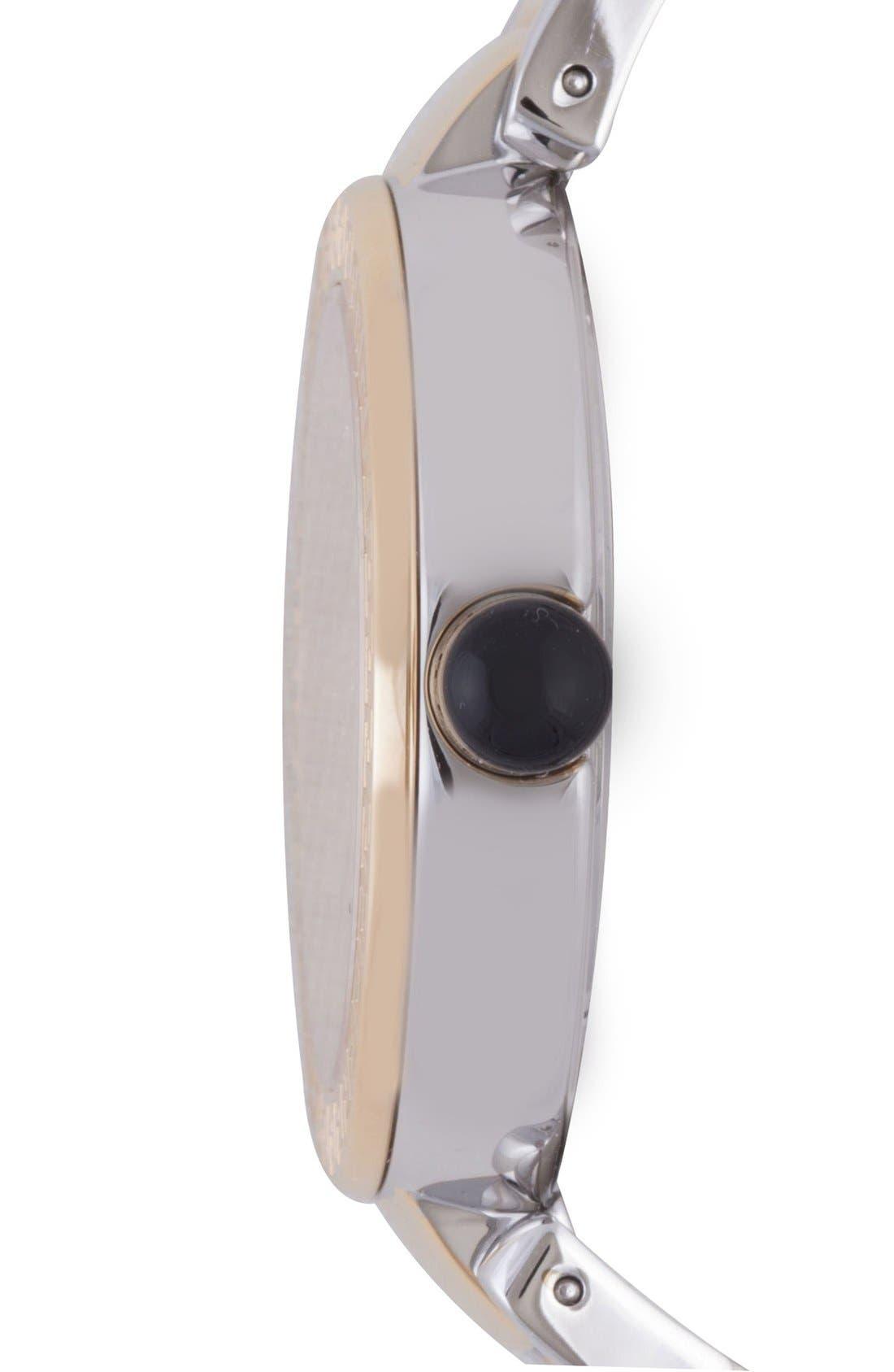Alternate Image 3  - Versace 'Leda' Guilloche Dial Bracelet Watch, 38mm