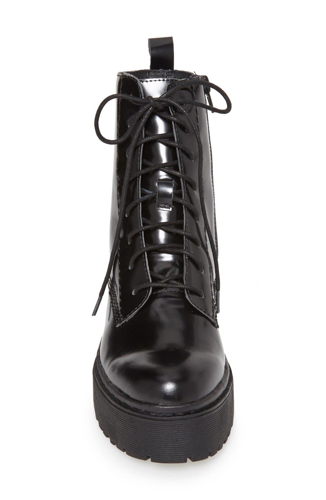 'Finnick' Boot,                             Alternate thumbnail 3, color,                             Black