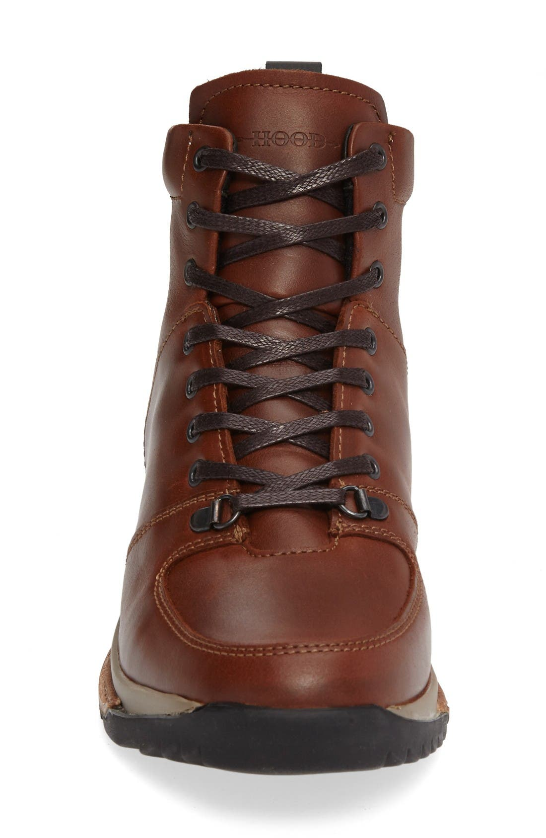 Concord Mid Top Wool Cuffed Waterproof Boot,                             Alternate thumbnail 3, color,                             Seahorse Leather