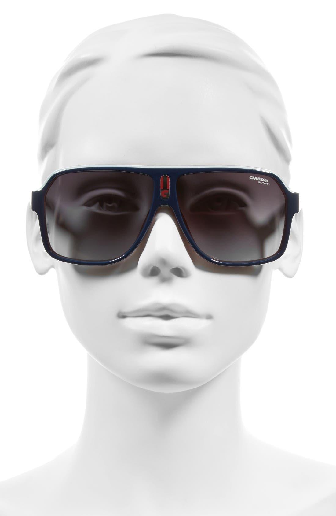 Alternate Image 2  - Carrera Eyewear 62mm Aviator Sunglasses