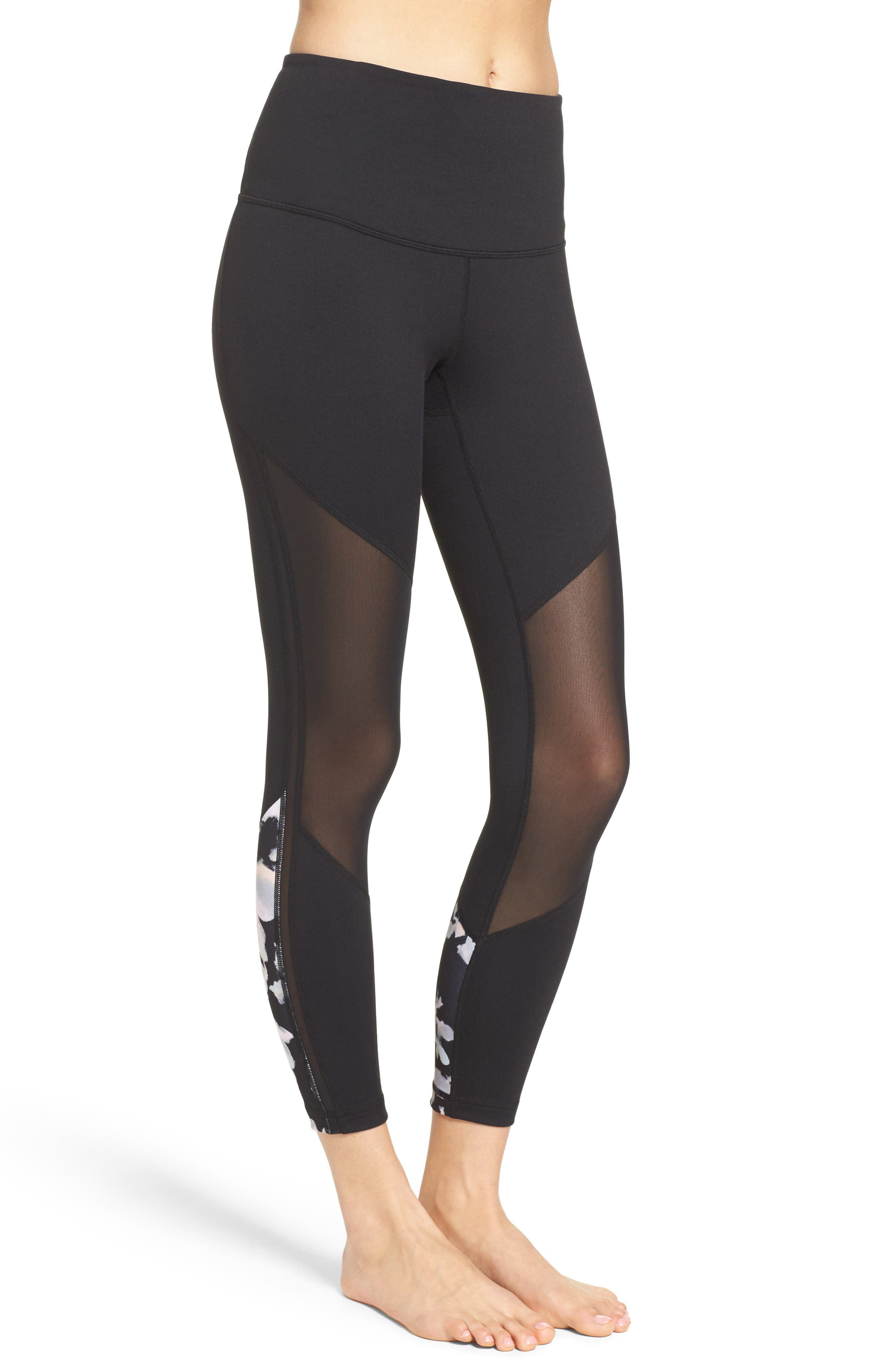 Zella Mindful High Waist Midi Leggings
