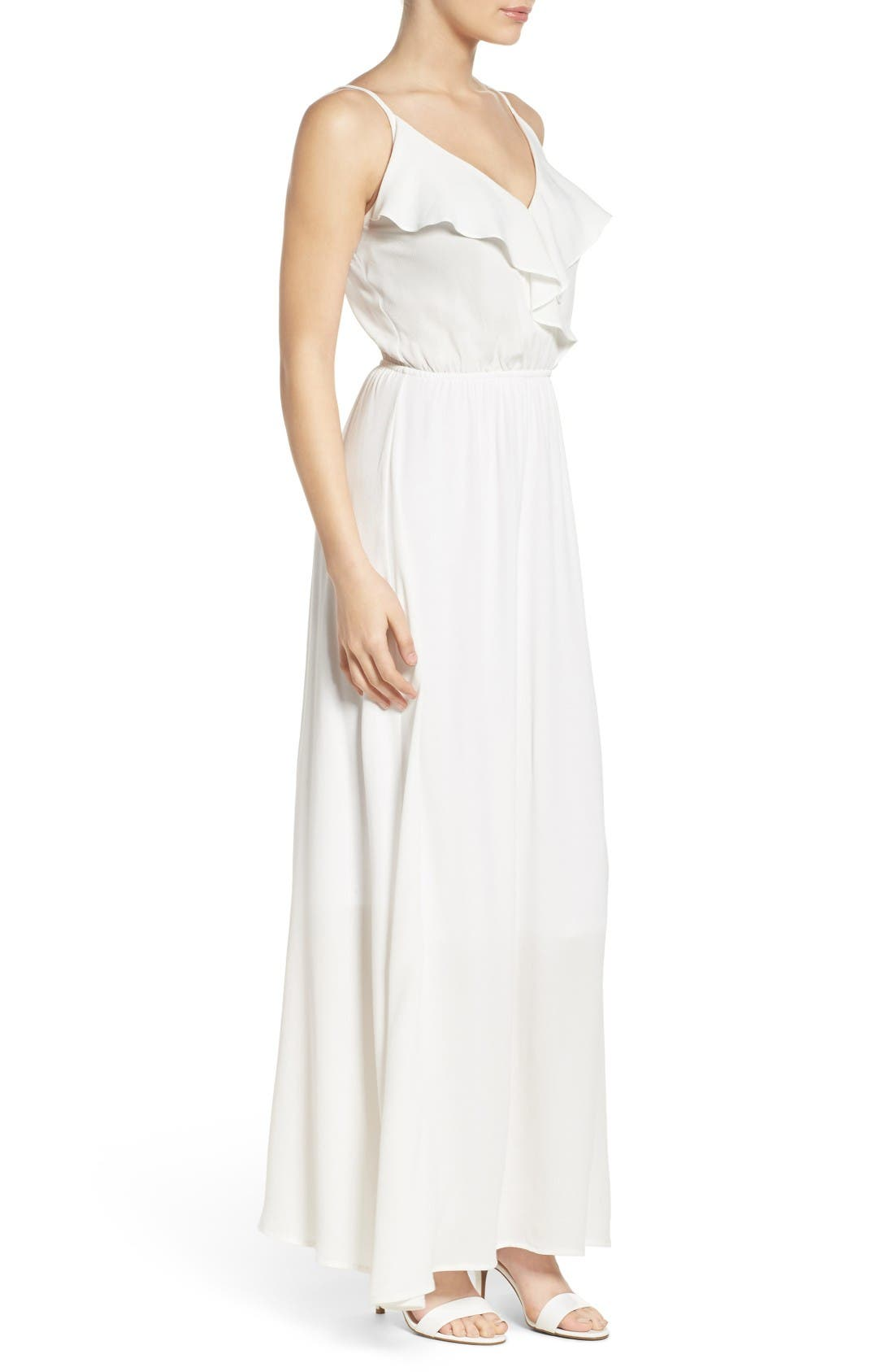 Alternate Image 3  - Fraiche by J Blouson Maxi Dress