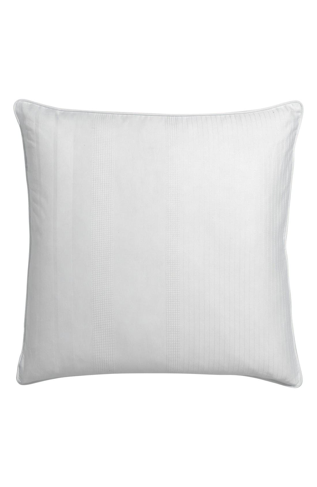 Sloane Square Organic Cotton Dobby Accent Pillow,                         Main,                         color, Cloud