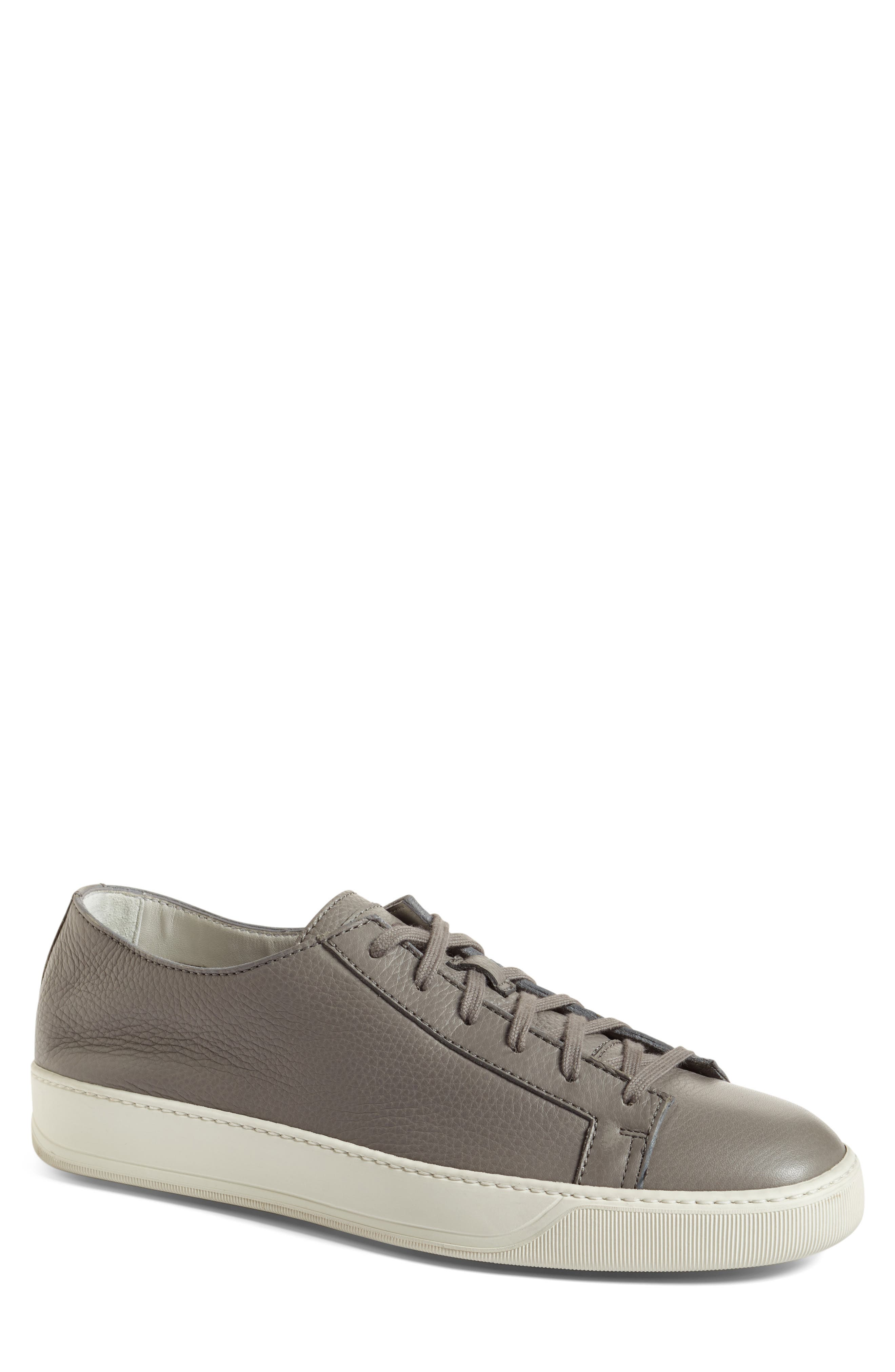 Cleanic Sneaker,                         Main,                         color, Grey Leather