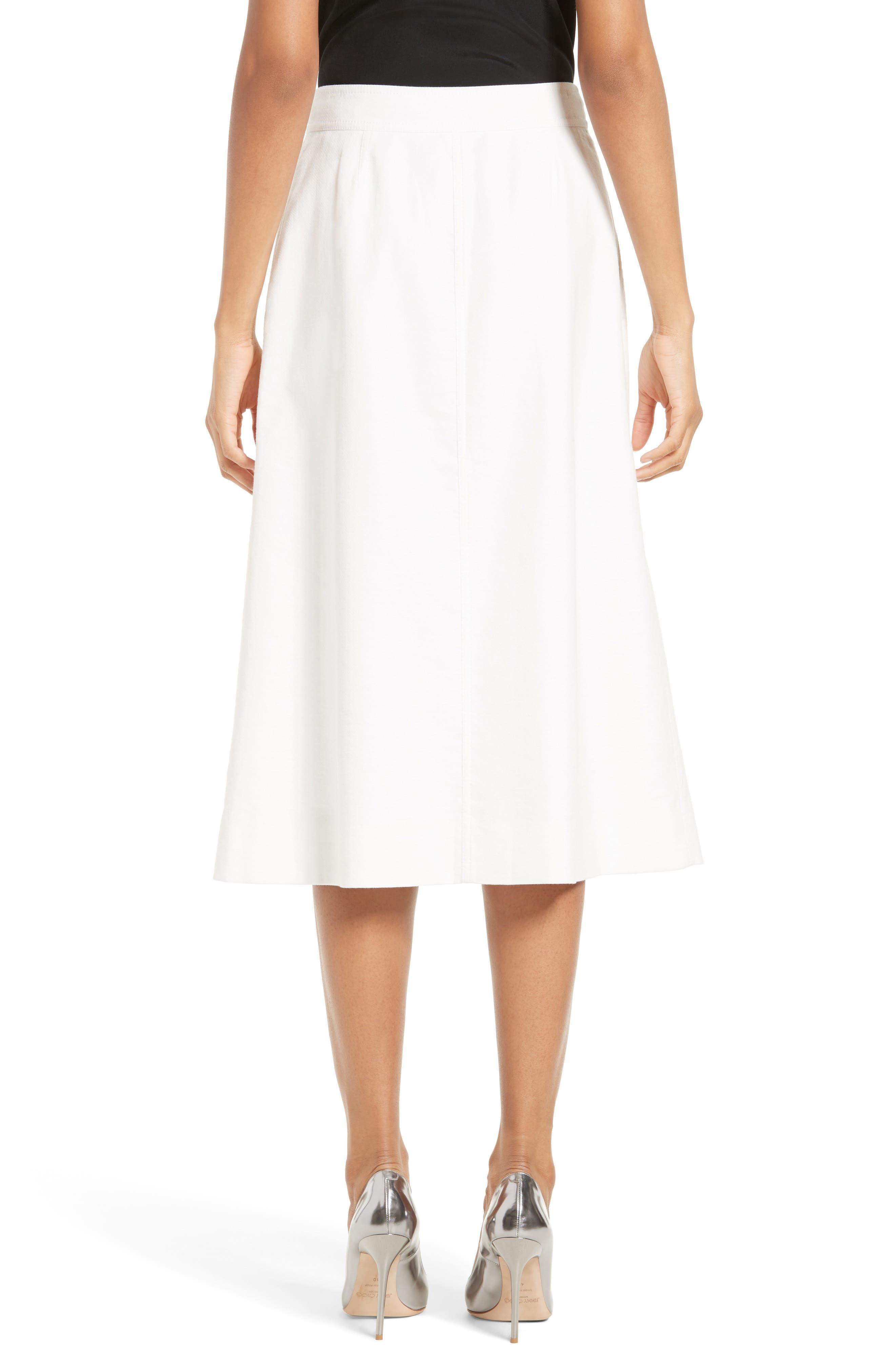 Alternate Image 2  - Diane von Fursternberg A-Line Midi Skirt