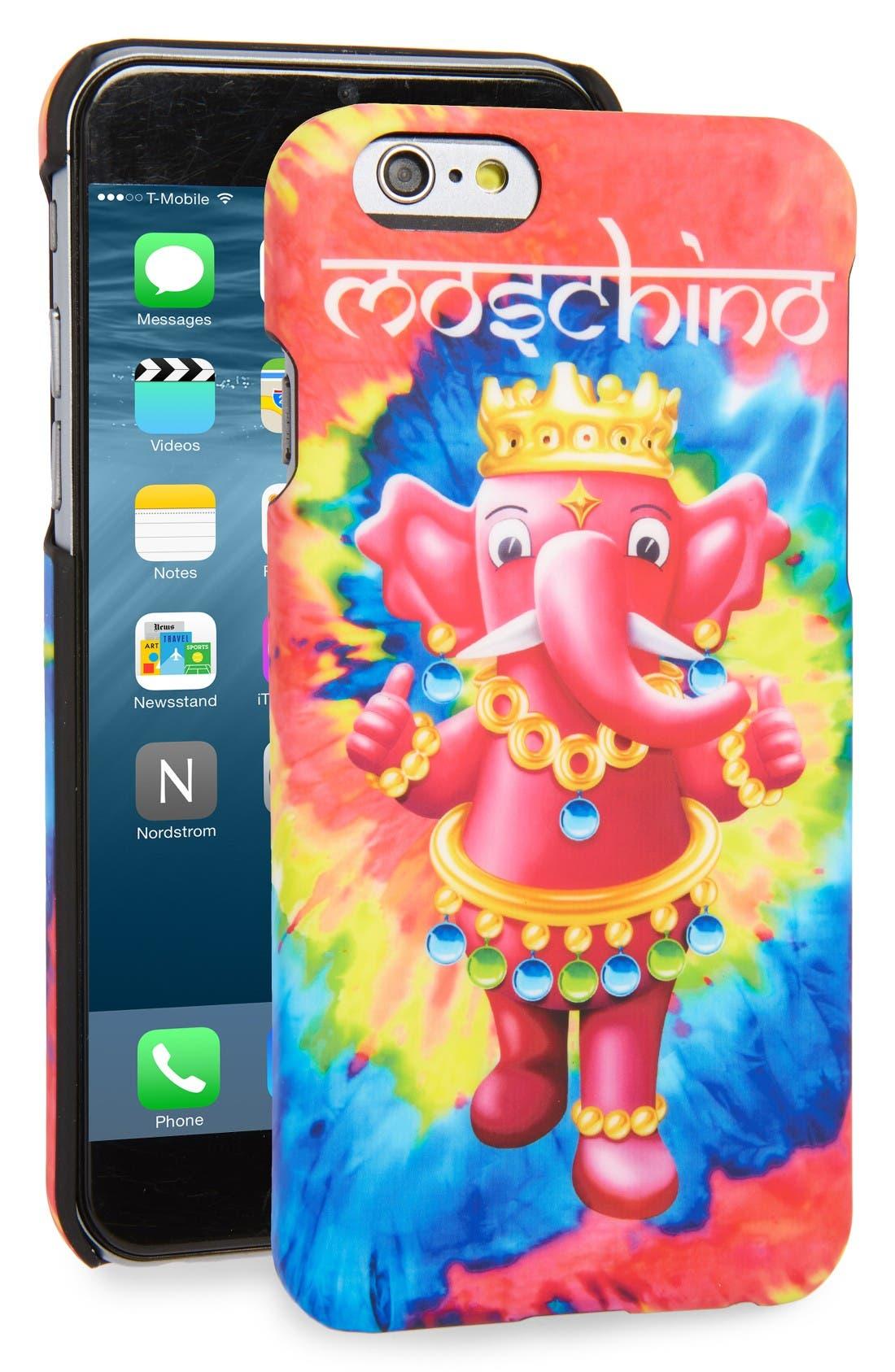 Main Image - Moschino Tie Dye Elephant iPhone 6/6s Case