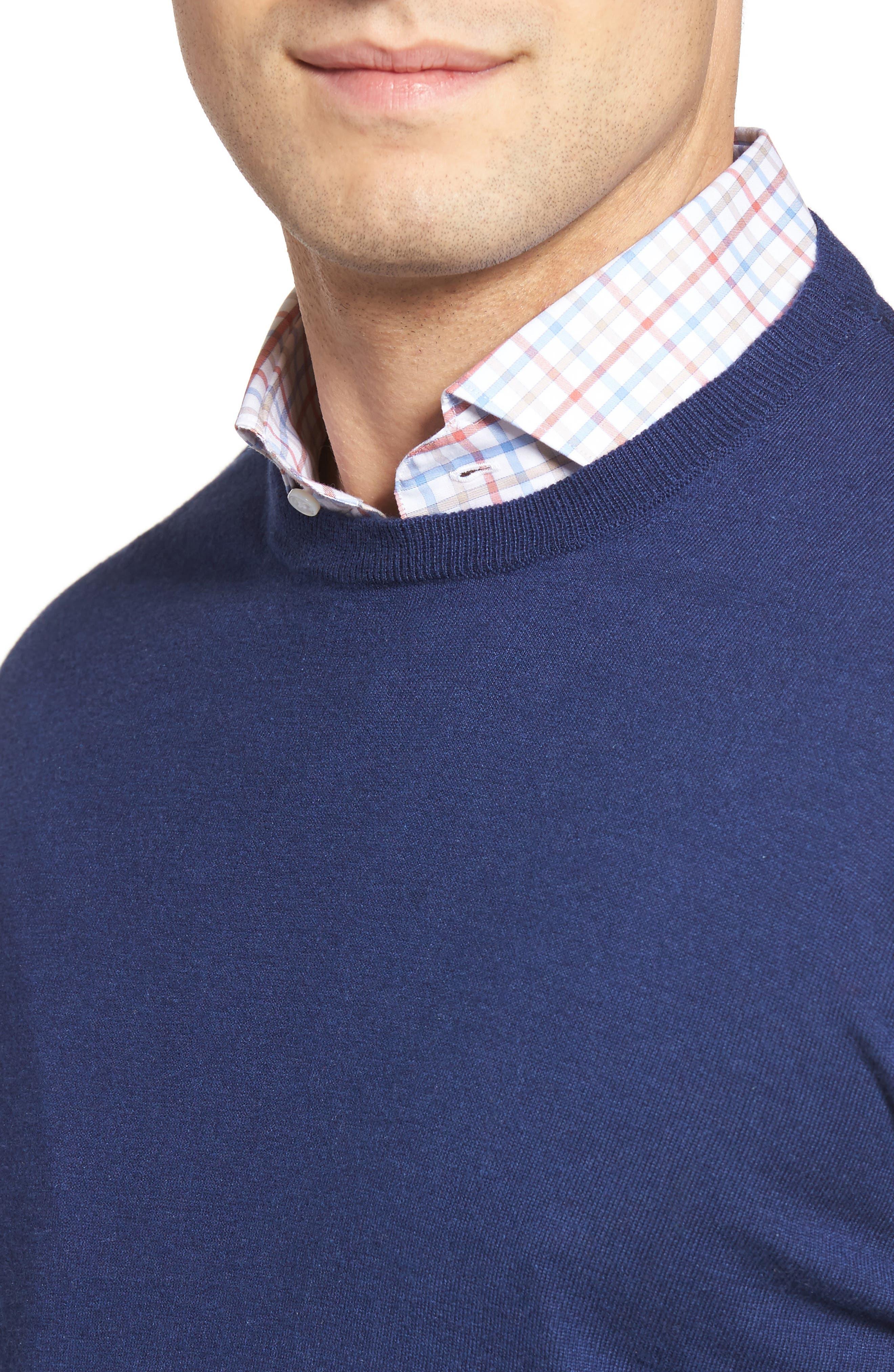 Alternate Image 4  - Peter Millar Crown Sweatshirt
