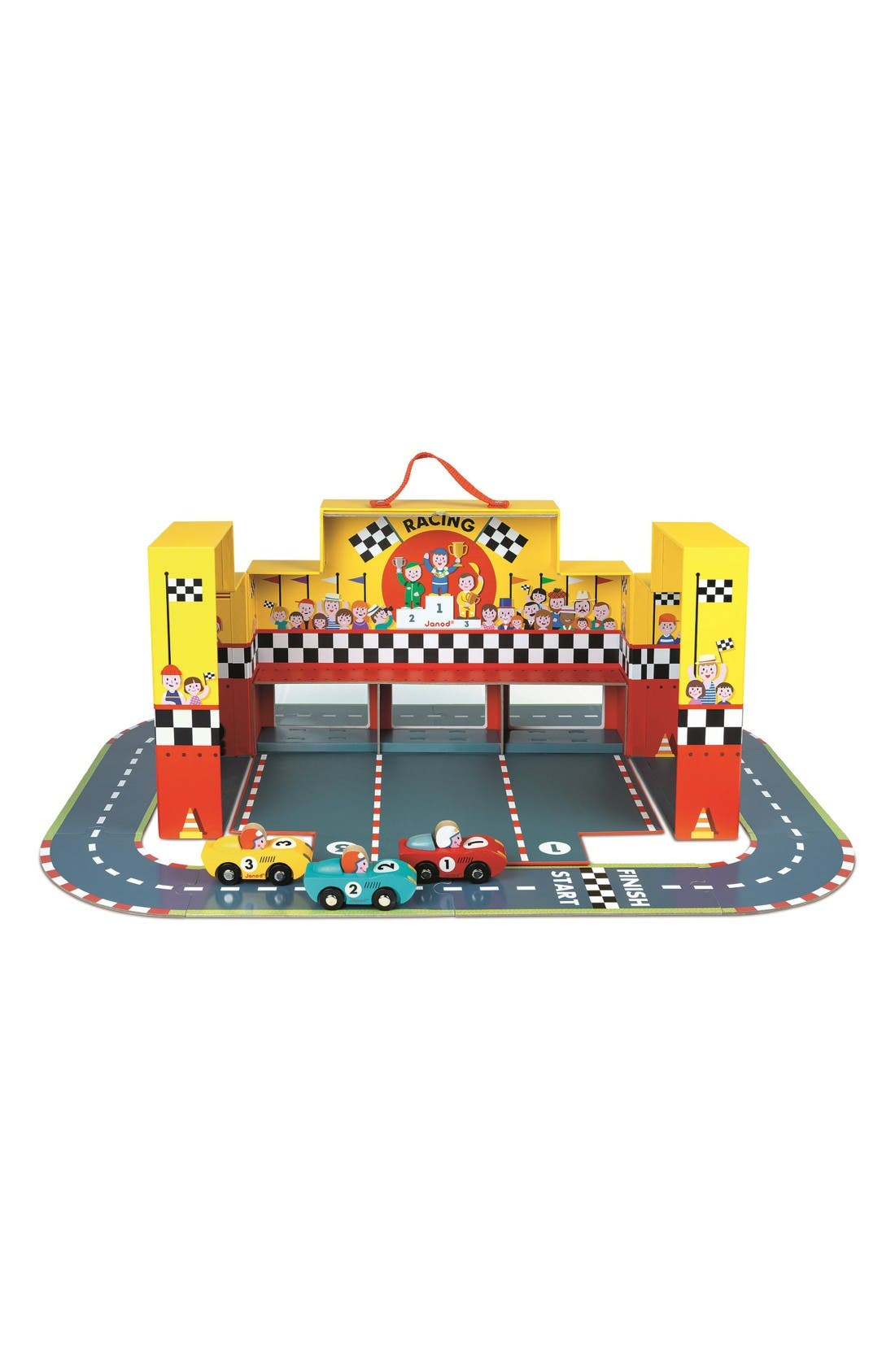 Story Grand Prix Play Set,                         Main,                         color, Multi