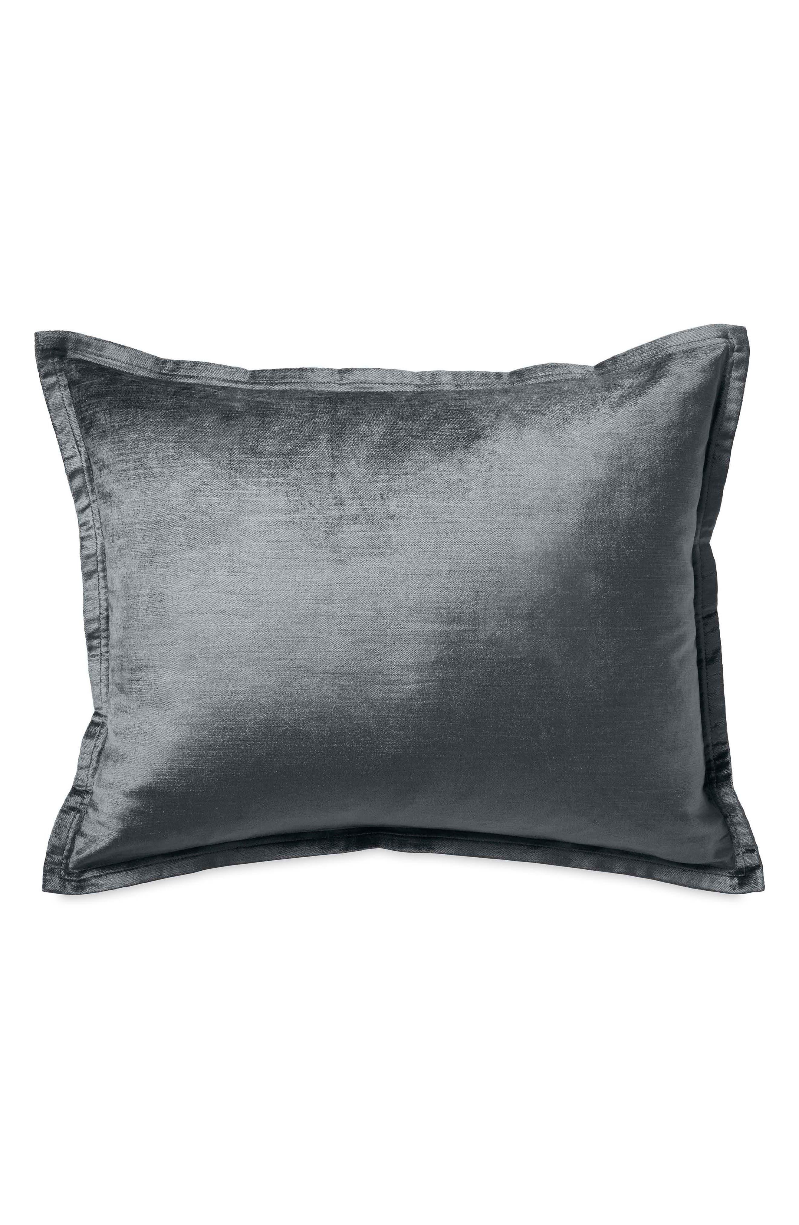 Exhale Pillow,                         Main,                         color, Grey