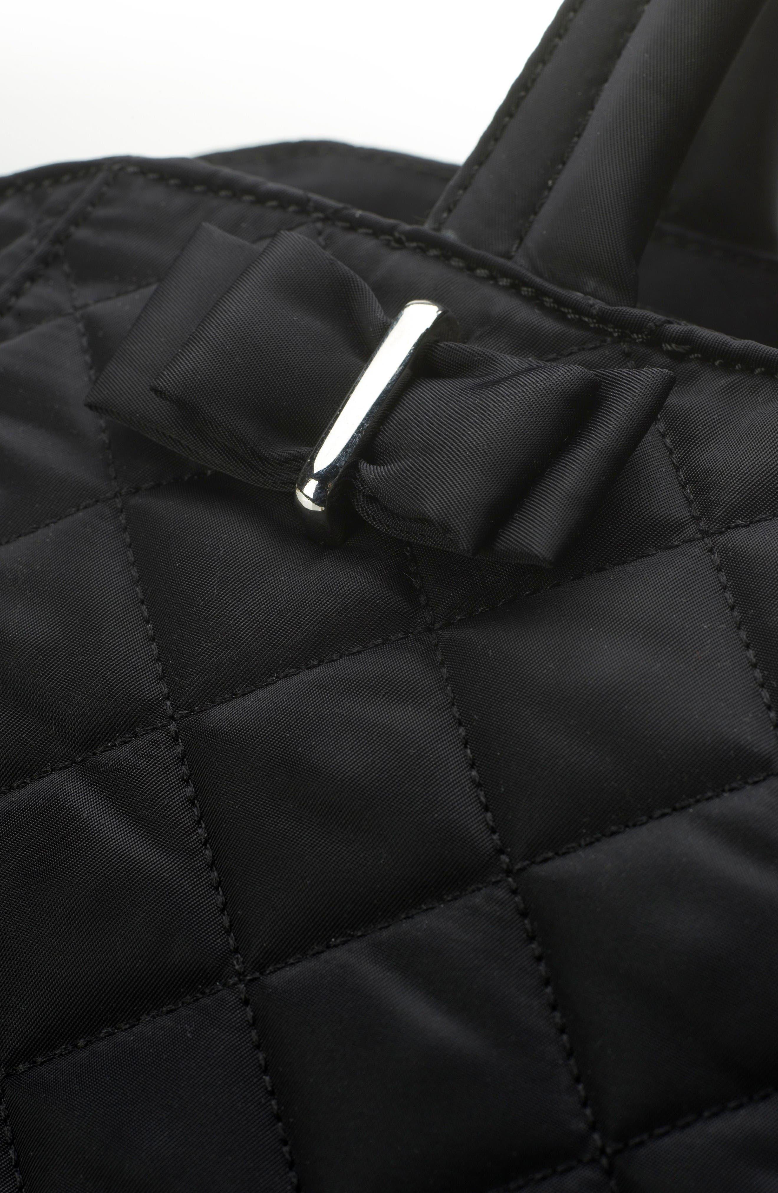 Bobby Diaper Bag,                             Alternate thumbnail 4, color,                             Black