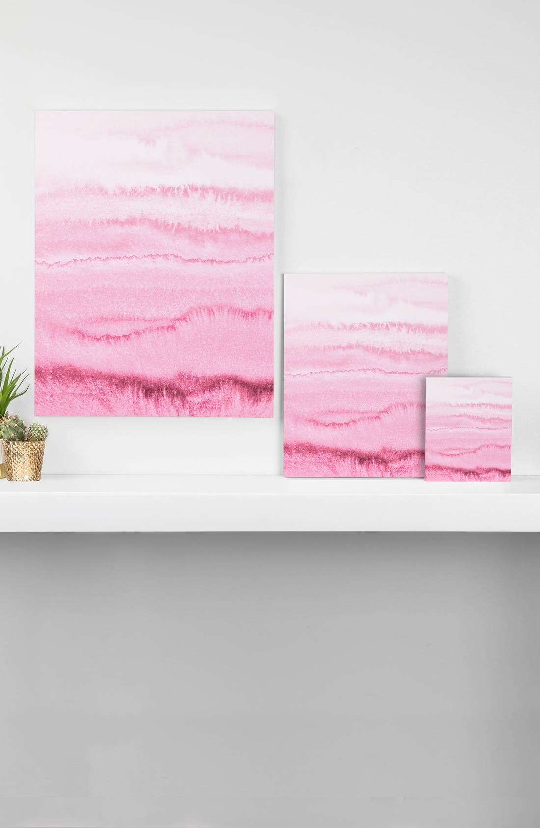 Alternate Image 3  - Deny Designs Cashmere Rose Wall Art