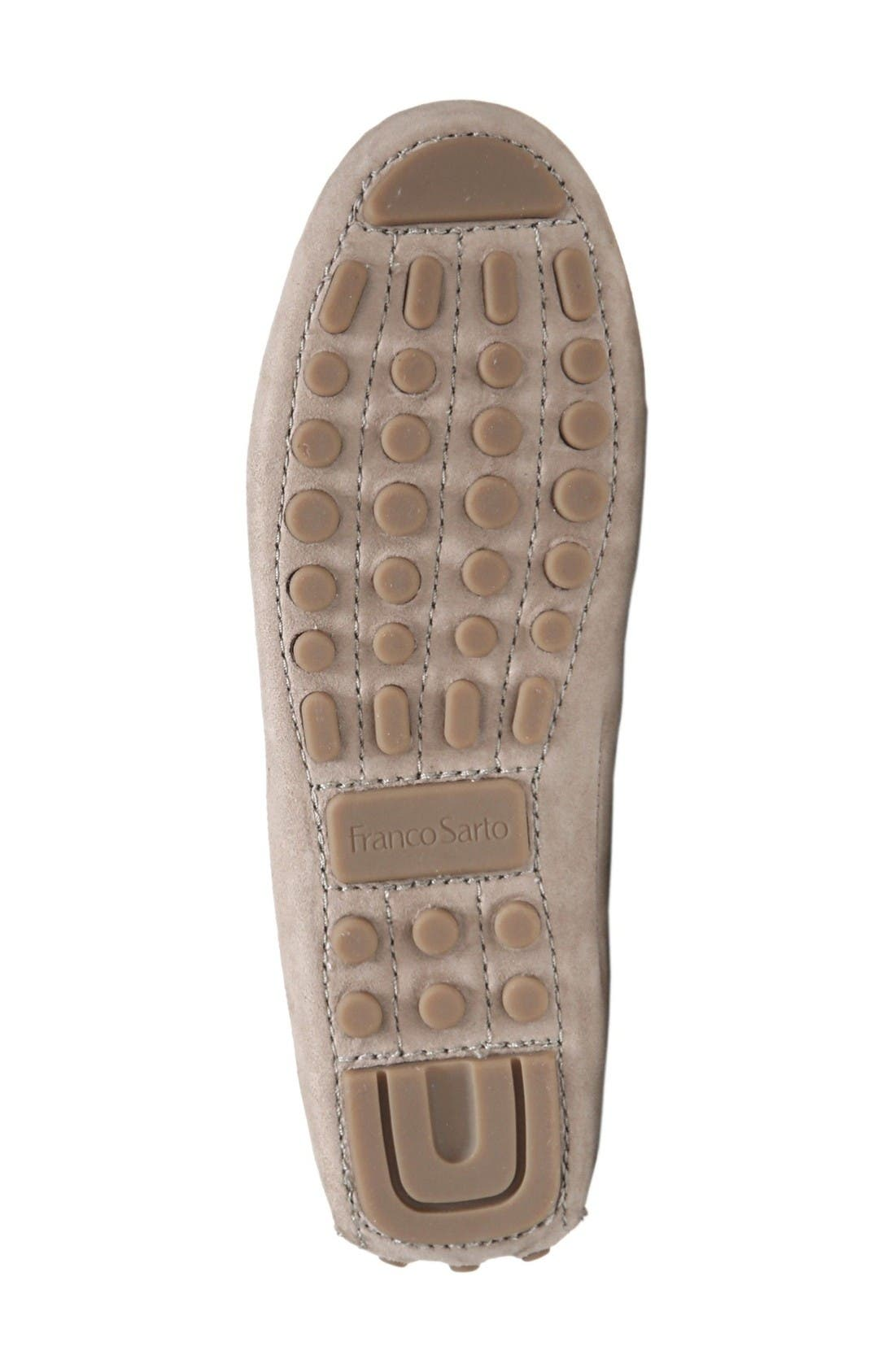 Galatea Loafer,                             Alternate thumbnail 4, color,                             Taupe Suede