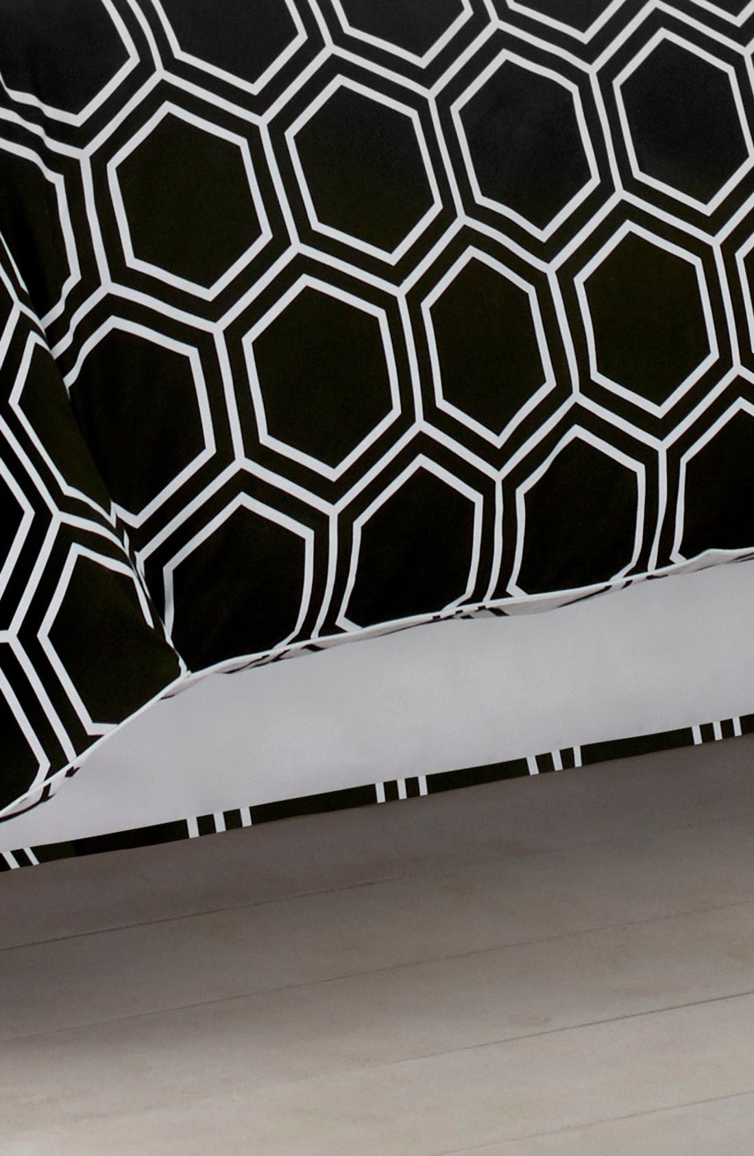 Alternate Image 1 Selected - Jill Rosenwald Blackpoint Hex Bed Skirt