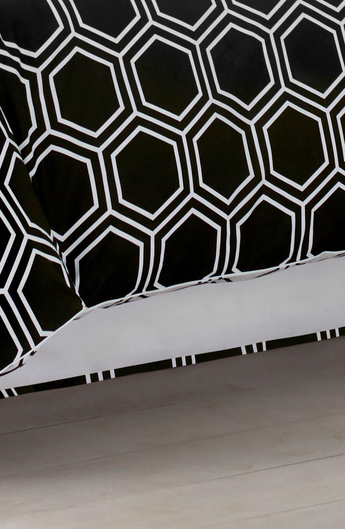 Main Image - Jill Rosenwald Blackpoint Hex Bed Skirt