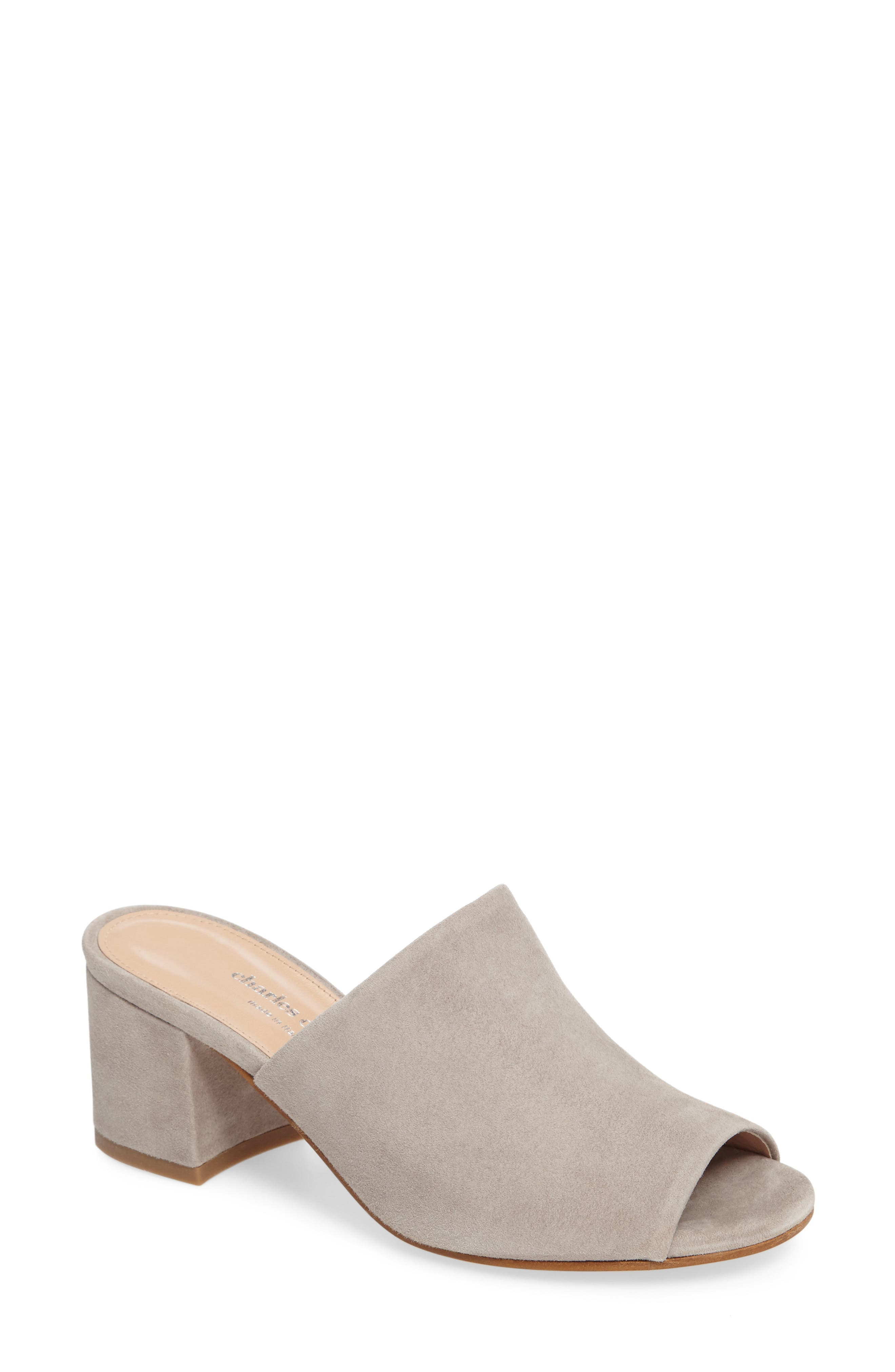 Charles by Charles David Brie Open Toe Slide (Women)