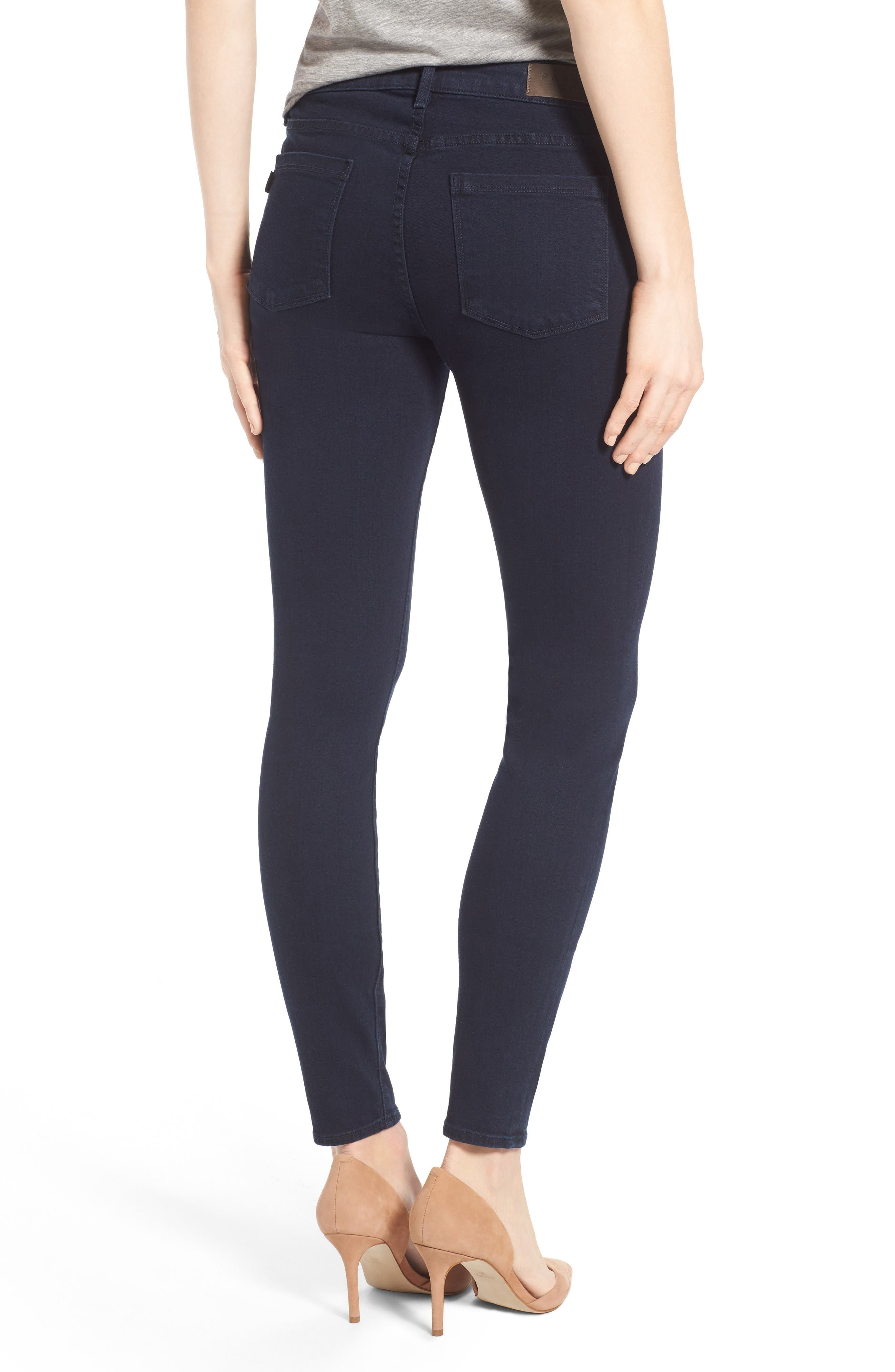 Ava Stretch Skinny Jeans,                             Alternate thumbnail 2, color,                             Nautical