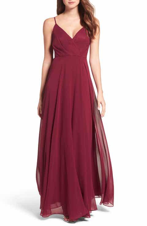 Burgundy Dresses For Women Nordstrom