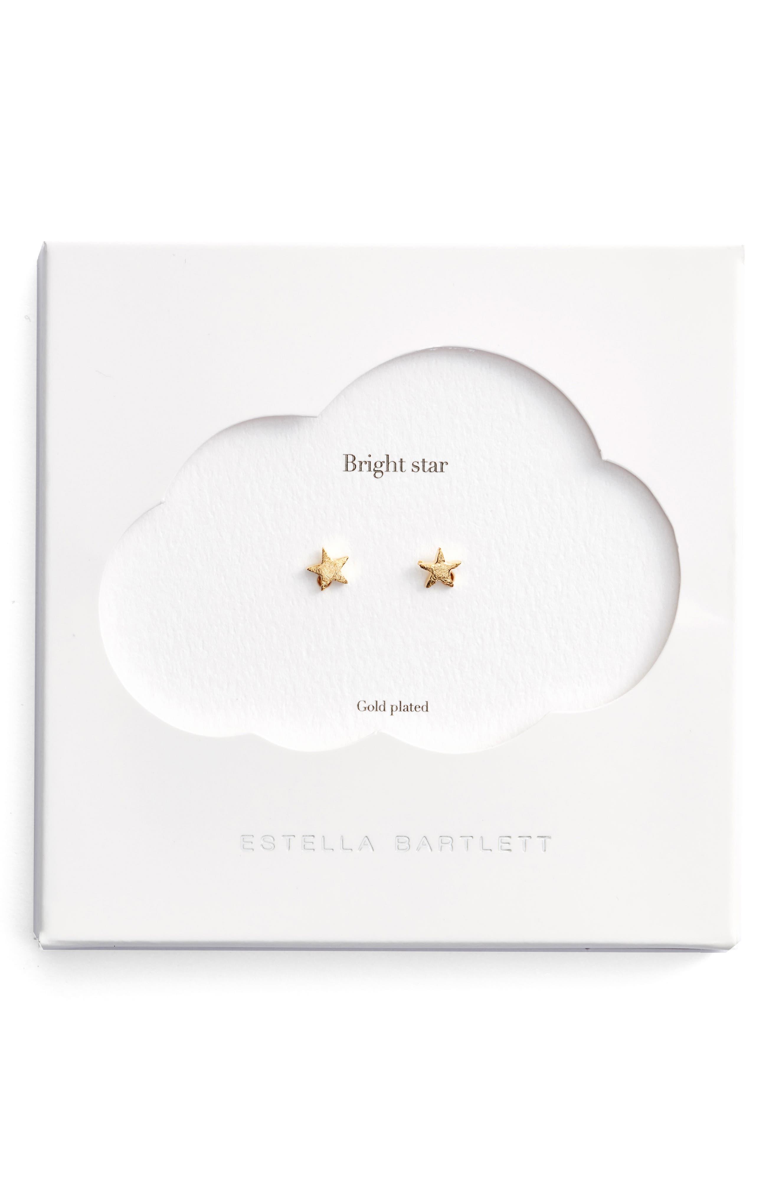 Alternate Image 2  - Estella Bartlett Bright Star Mini Stud Earrings