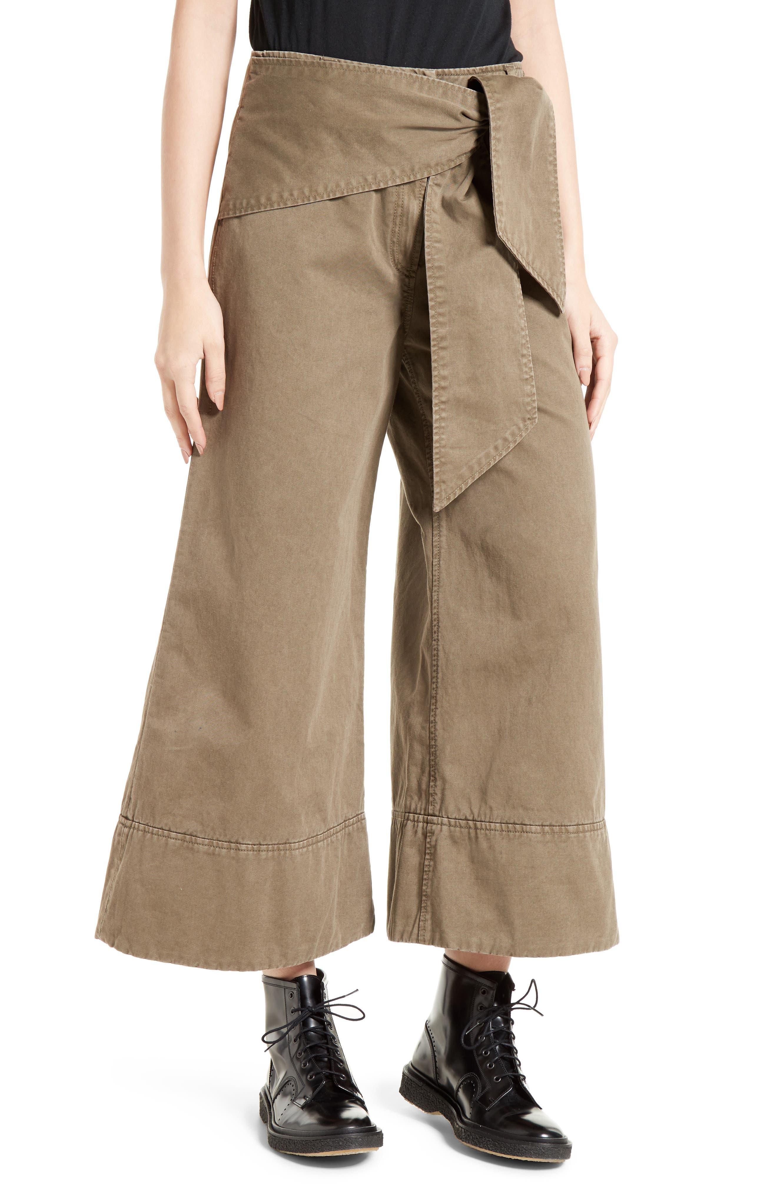 Alternate Image 1 Selected - Cinq à Sept Knox Cotton Culottes