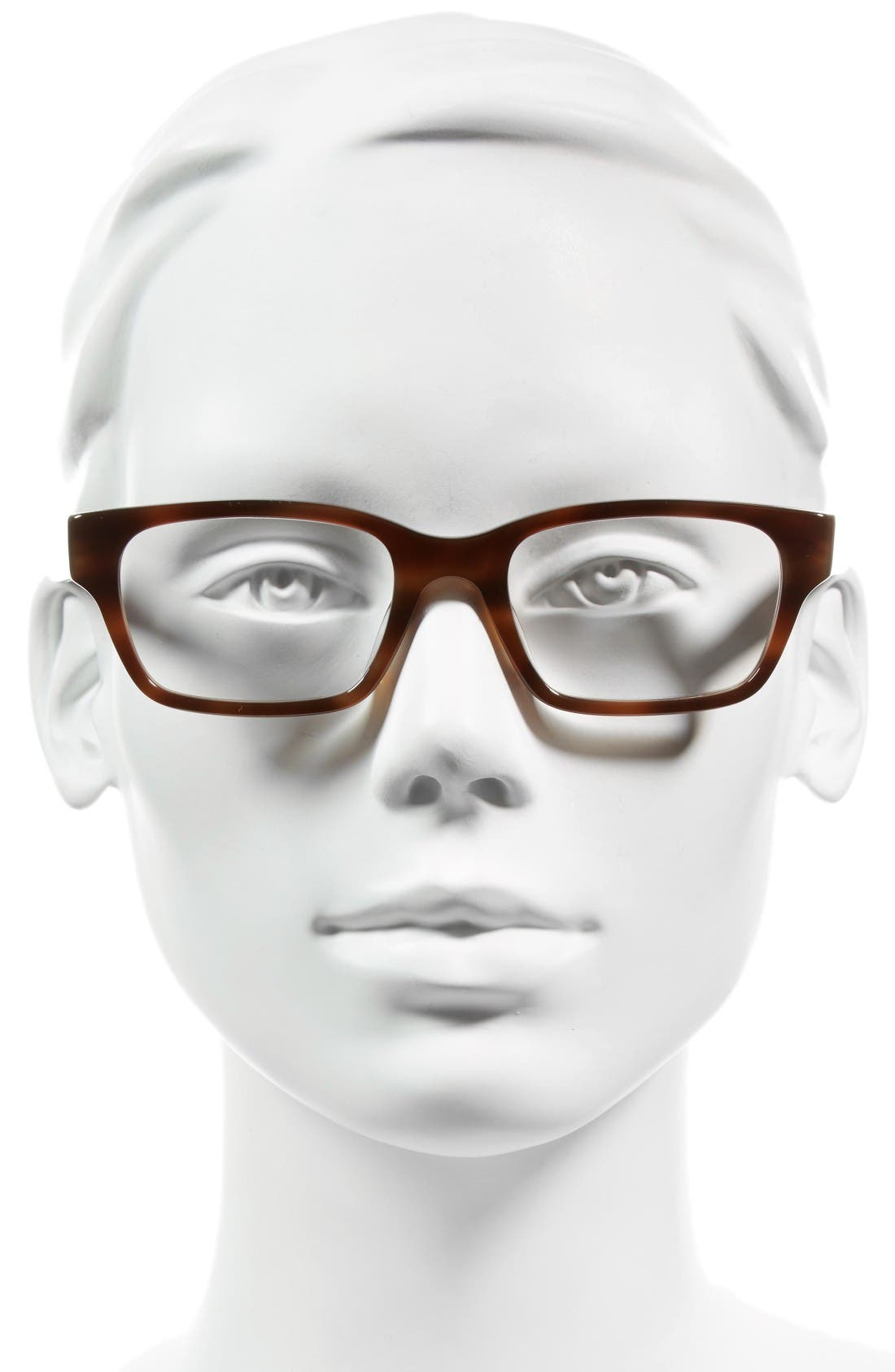 Sydney 51mm Reading Glasses,                             Alternate thumbnail 2, color,                             Brown Fade