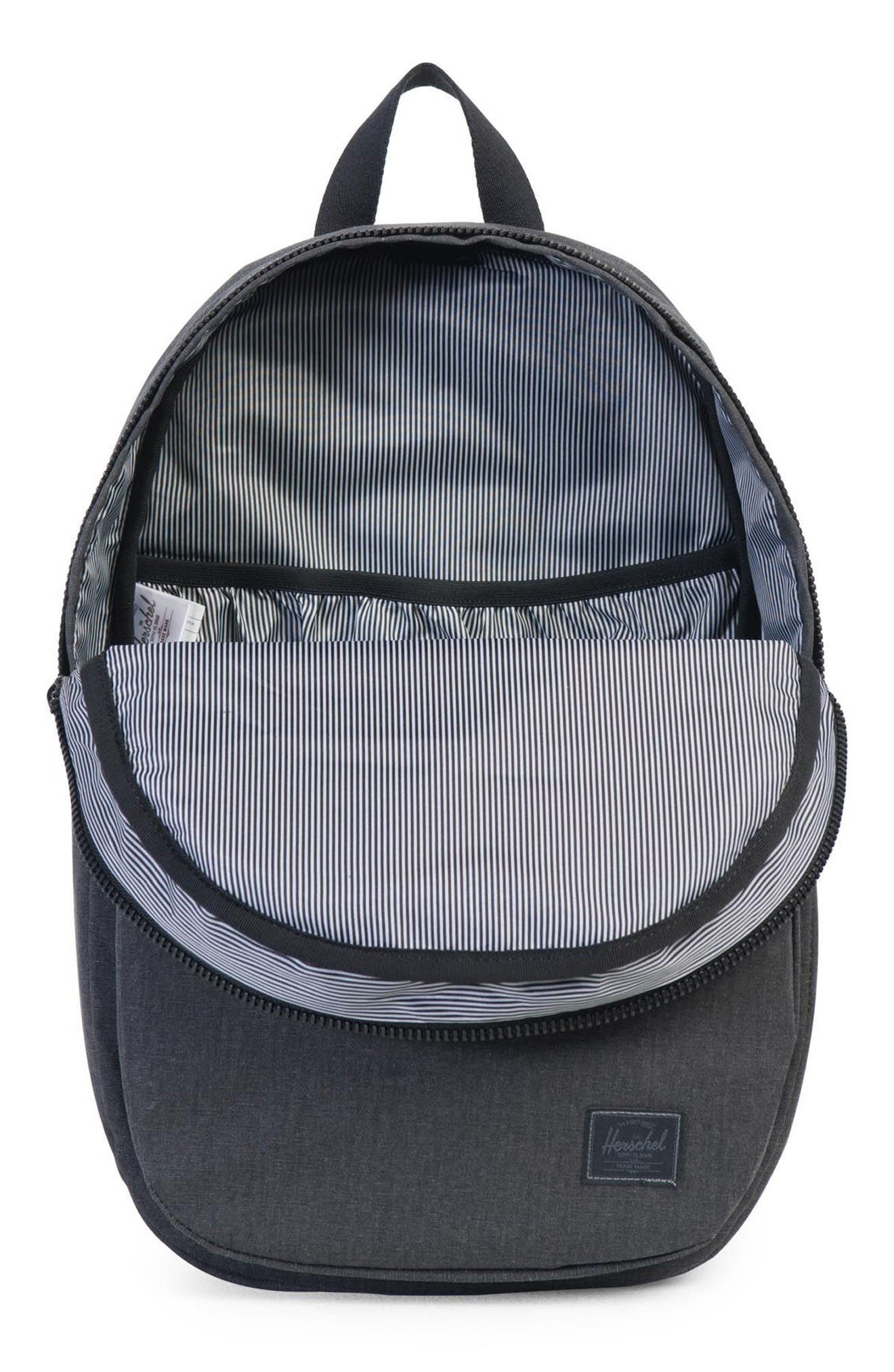Lawson Backpack,                             Alternate thumbnail 3, color,                             Black Ion Washed