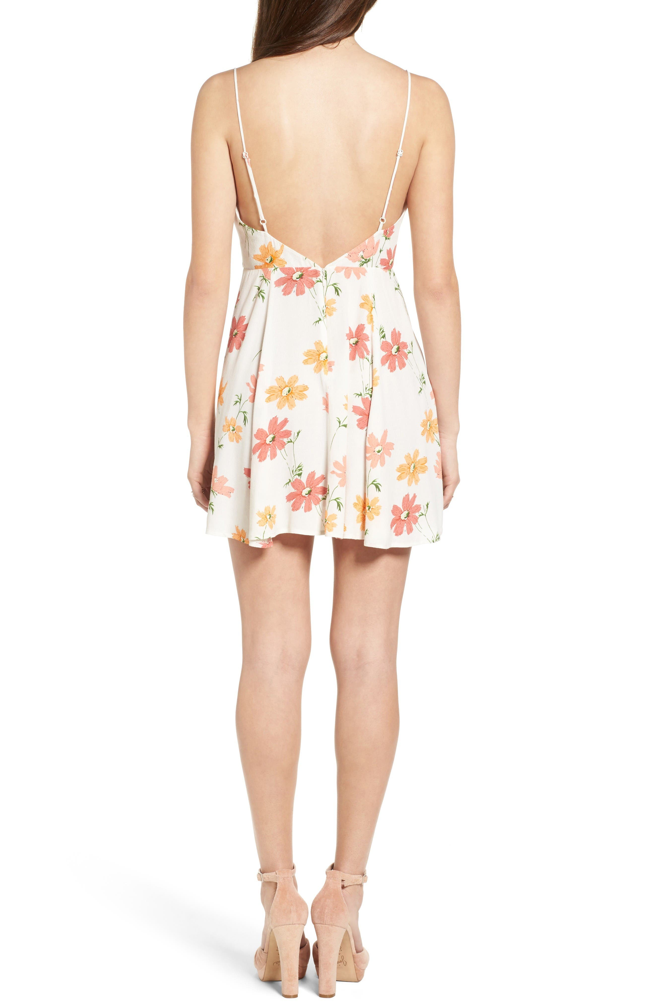 Alternate Image 3  - Privacy Please Sigbee Floral Dress