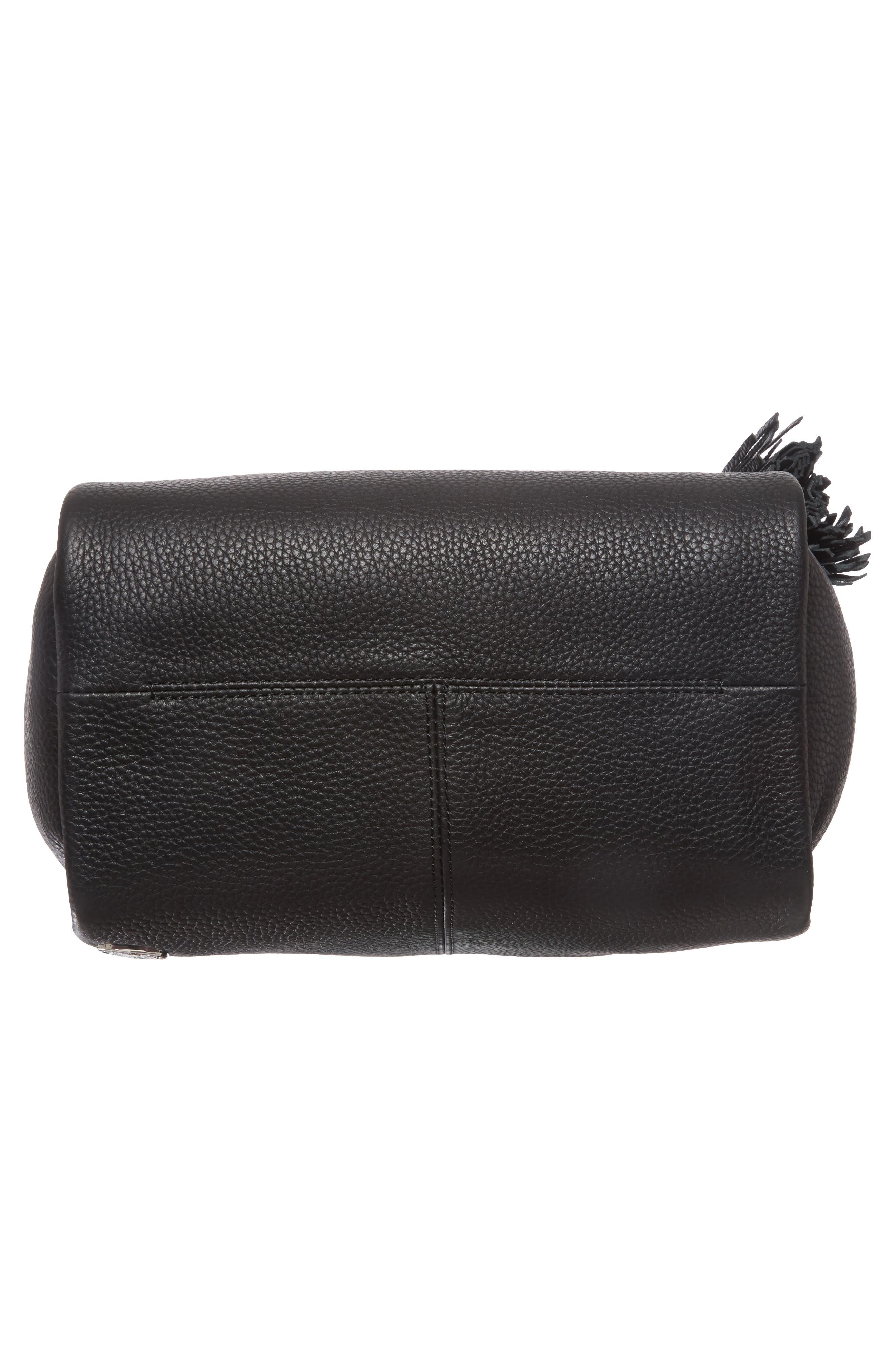 Alternate Image 6  - Vince Camuto Small Taja Leather Tote with Tassel Charm