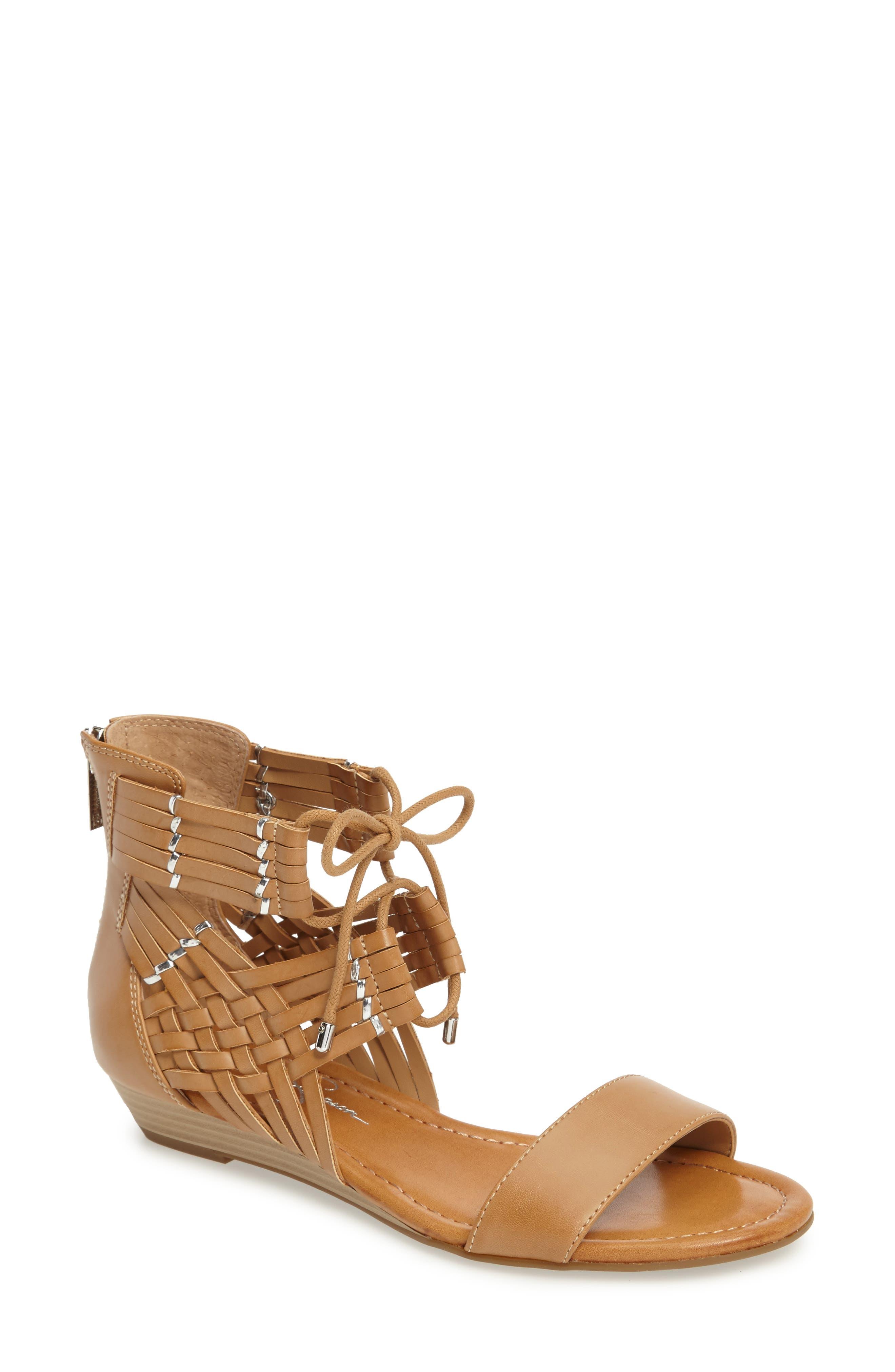 Alternate Image 1 Selected - Jessica Simpson Lourra Woven Sandal (Women)