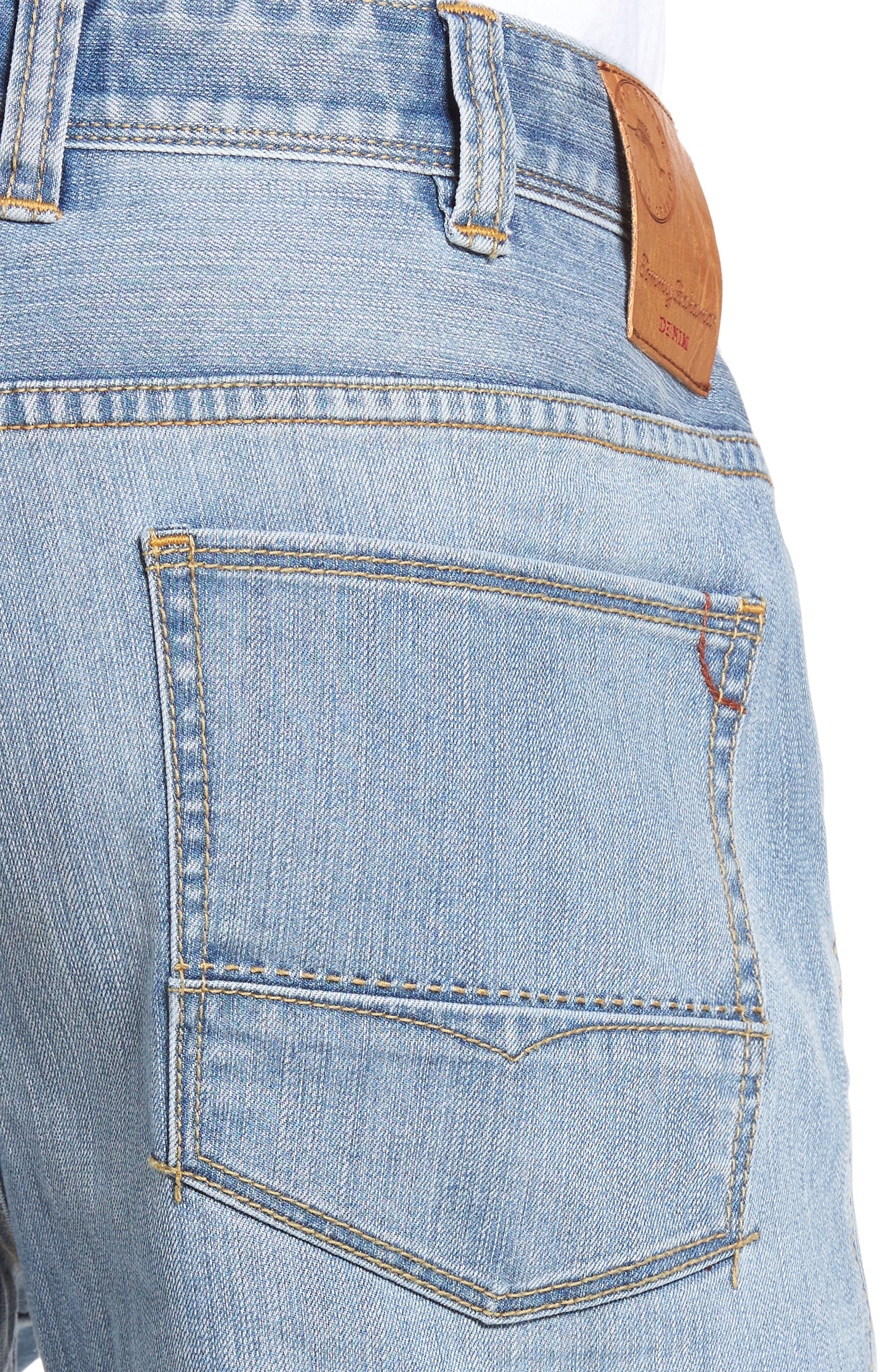 Sorrento Straight Leg Jeans,                             Alternate thumbnail 4, color,                             Light Wash