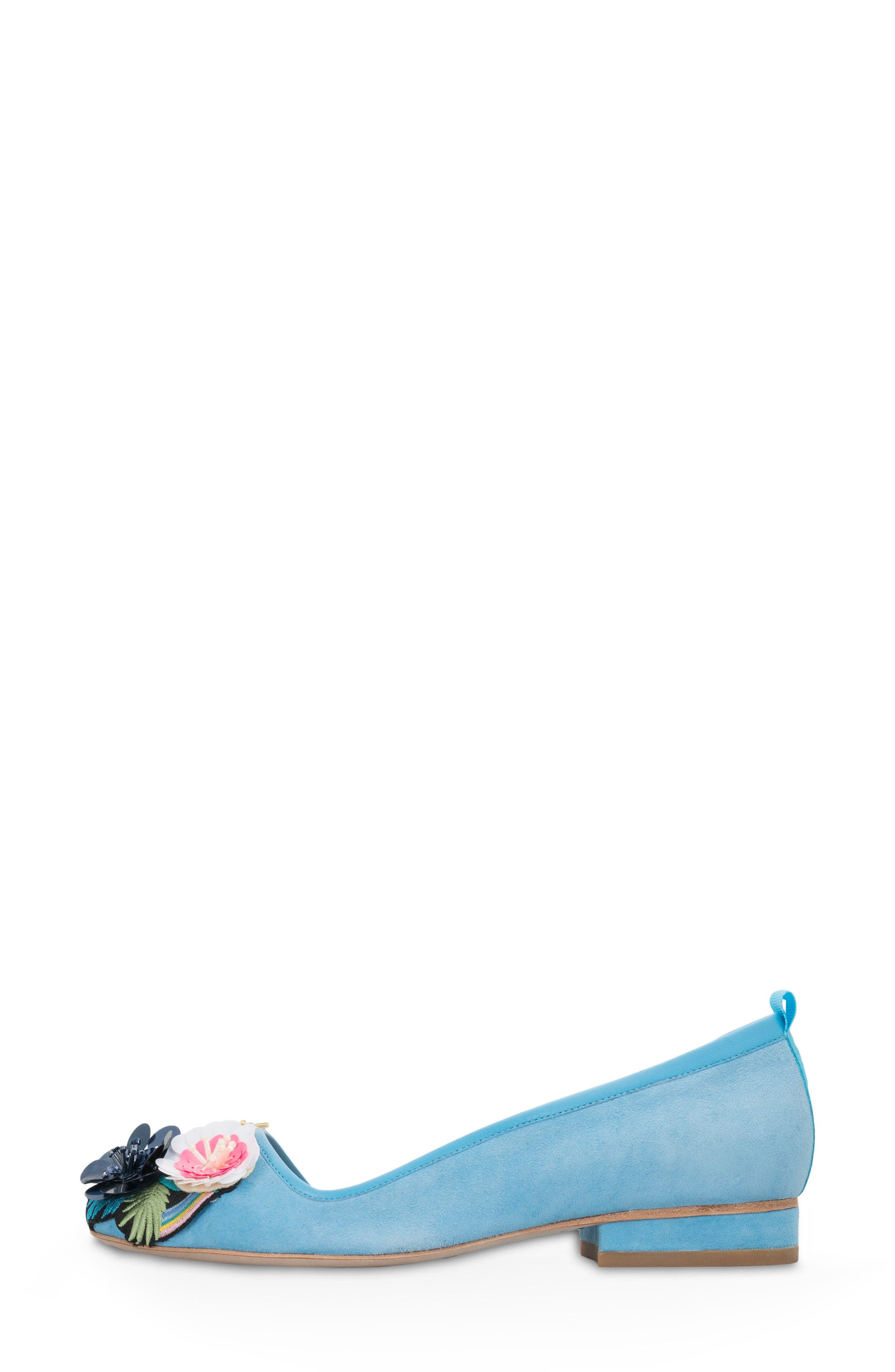 Alternate Image 3  - Bill Blass Lola Half d'Orsay Flat (Women)