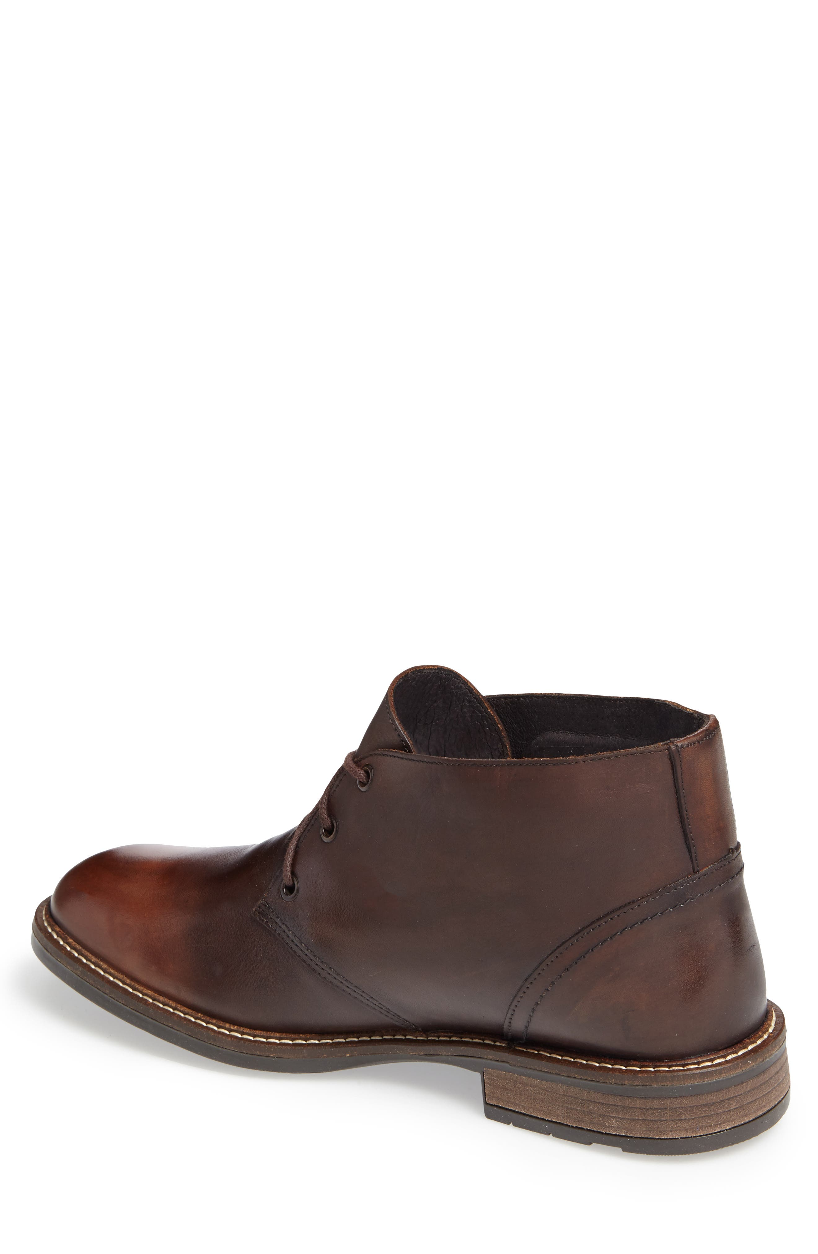Pilot Chukka Boot,                             Alternate thumbnail 2, color,                             Brown Gradient Leather