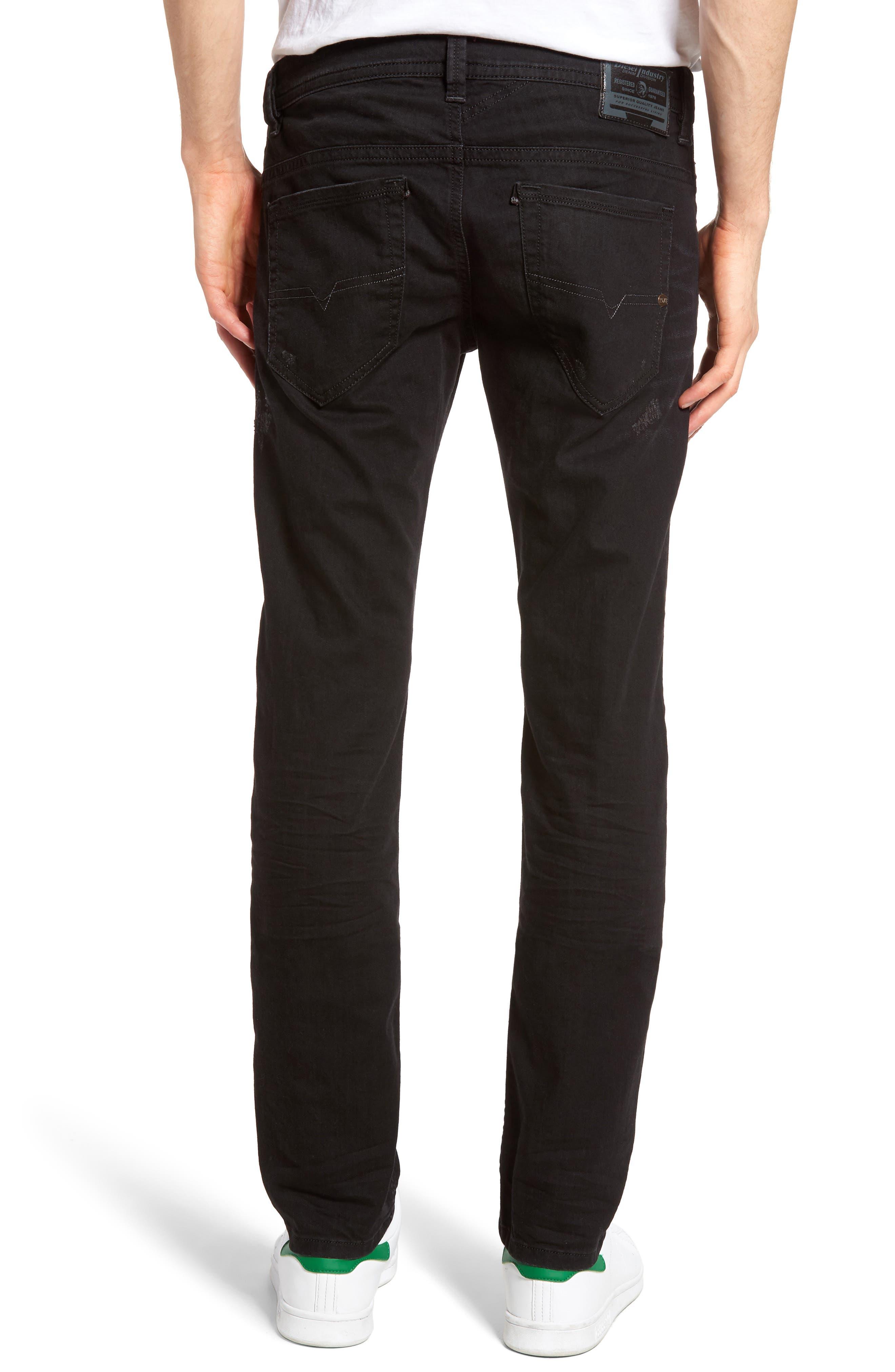 Alternate Image 2  - DIESEL® Thavar Skinny Fit Jeans (0679F)
