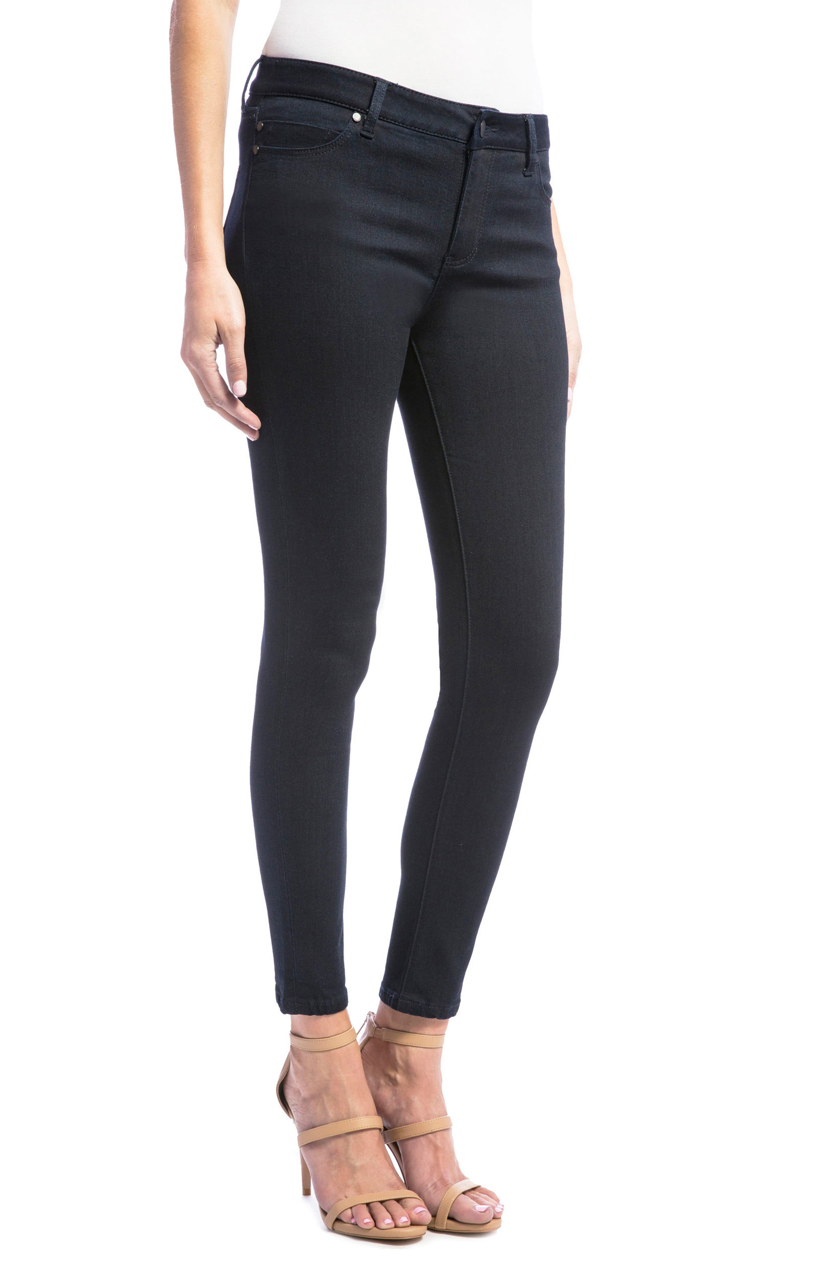 Alternate Image 4  - Liverpool Jeans Company Penny Skinny Ankle Jeans (Regular & Petite)