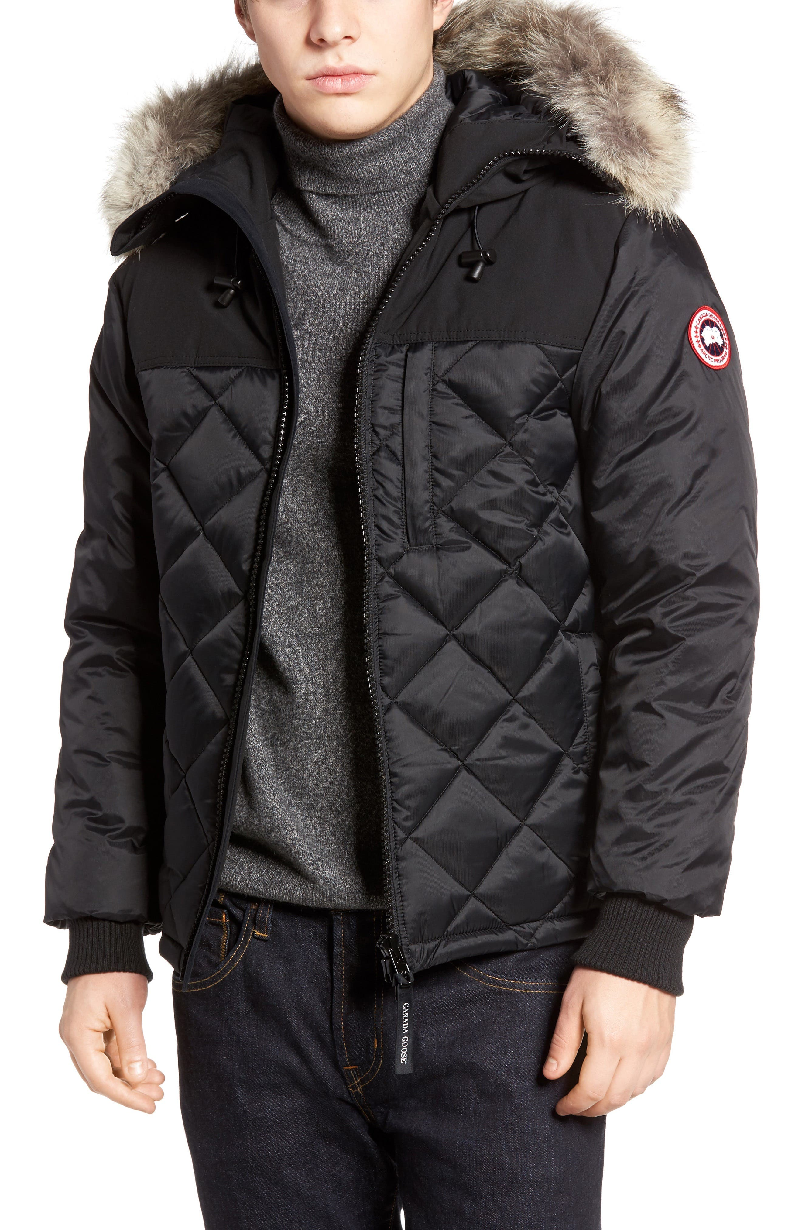Alternate Image 1 Selected - Canada Goose Pritchard Genuine Coyote Fur Trim Goose Down Parka