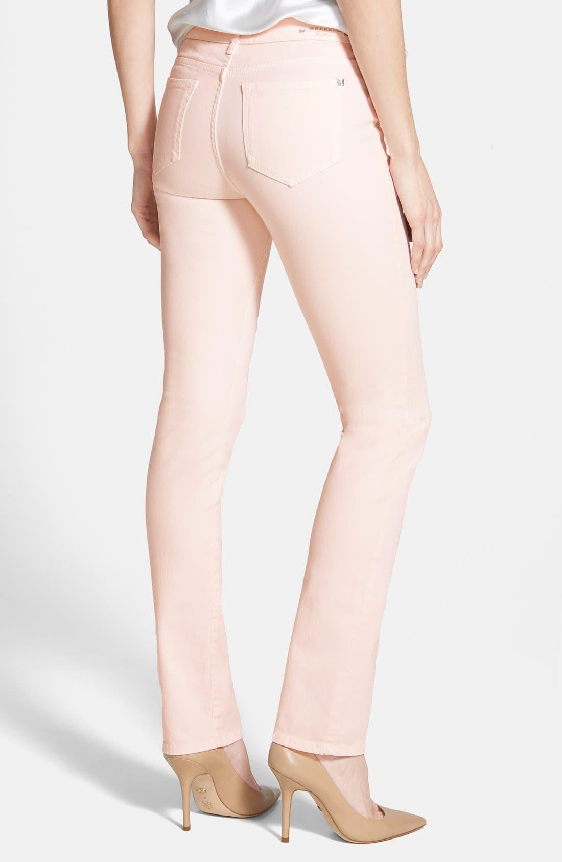 'Genarca' Skinny Jeans,                             Alternate thumbnail 2, color,                             Pink