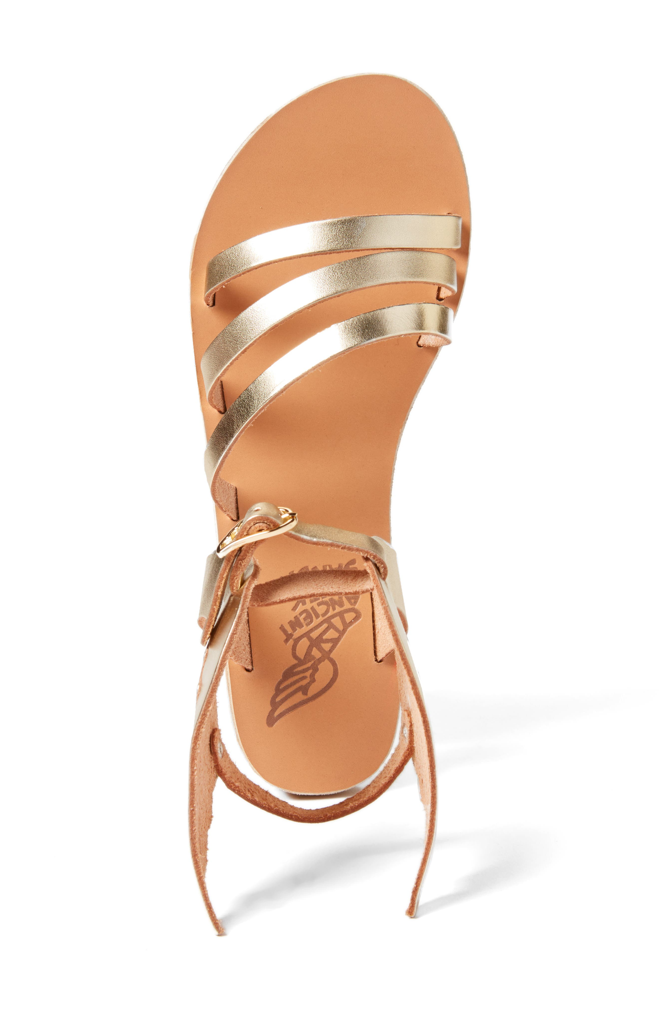 Ikaria Sandal,                             Alternate thumbnail 3, color,                             Platinum