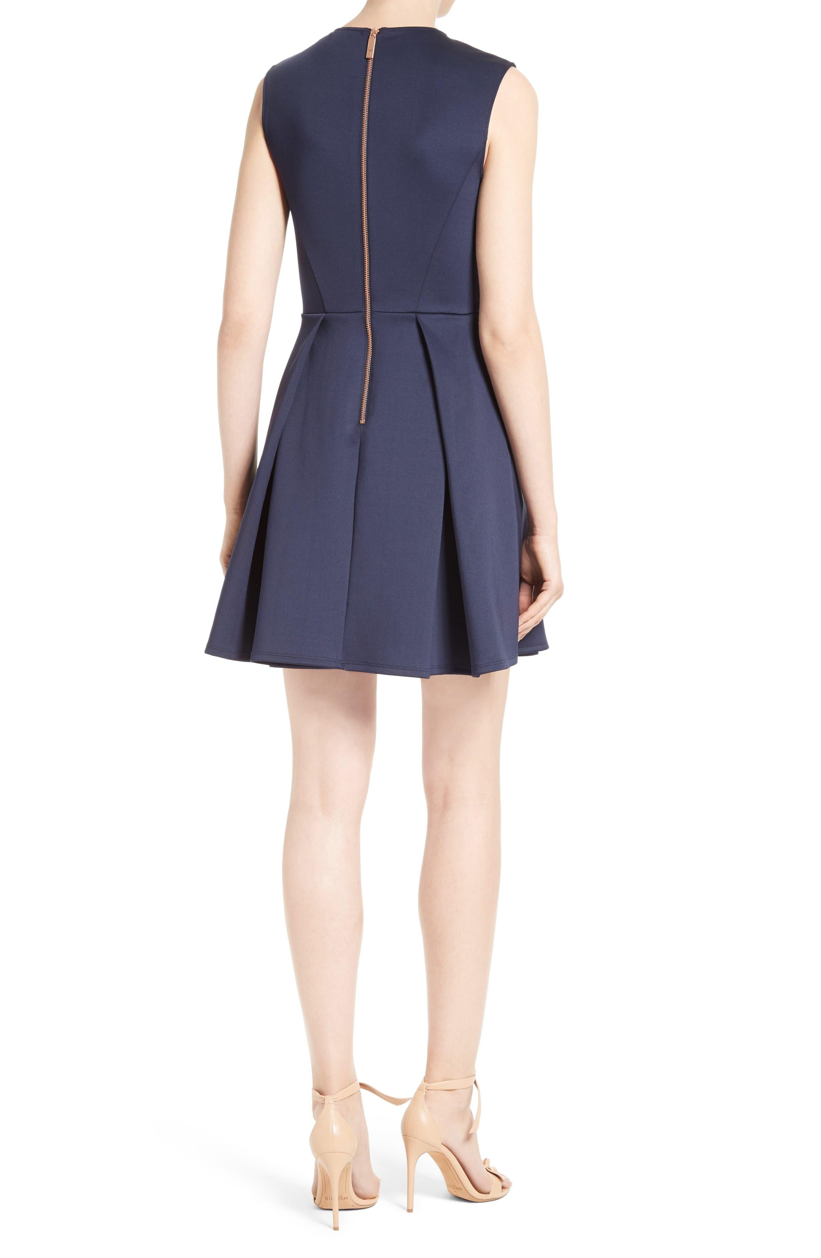 Alternate Image 2  - Ted Baker London Lavensa Fit & Flare Dress