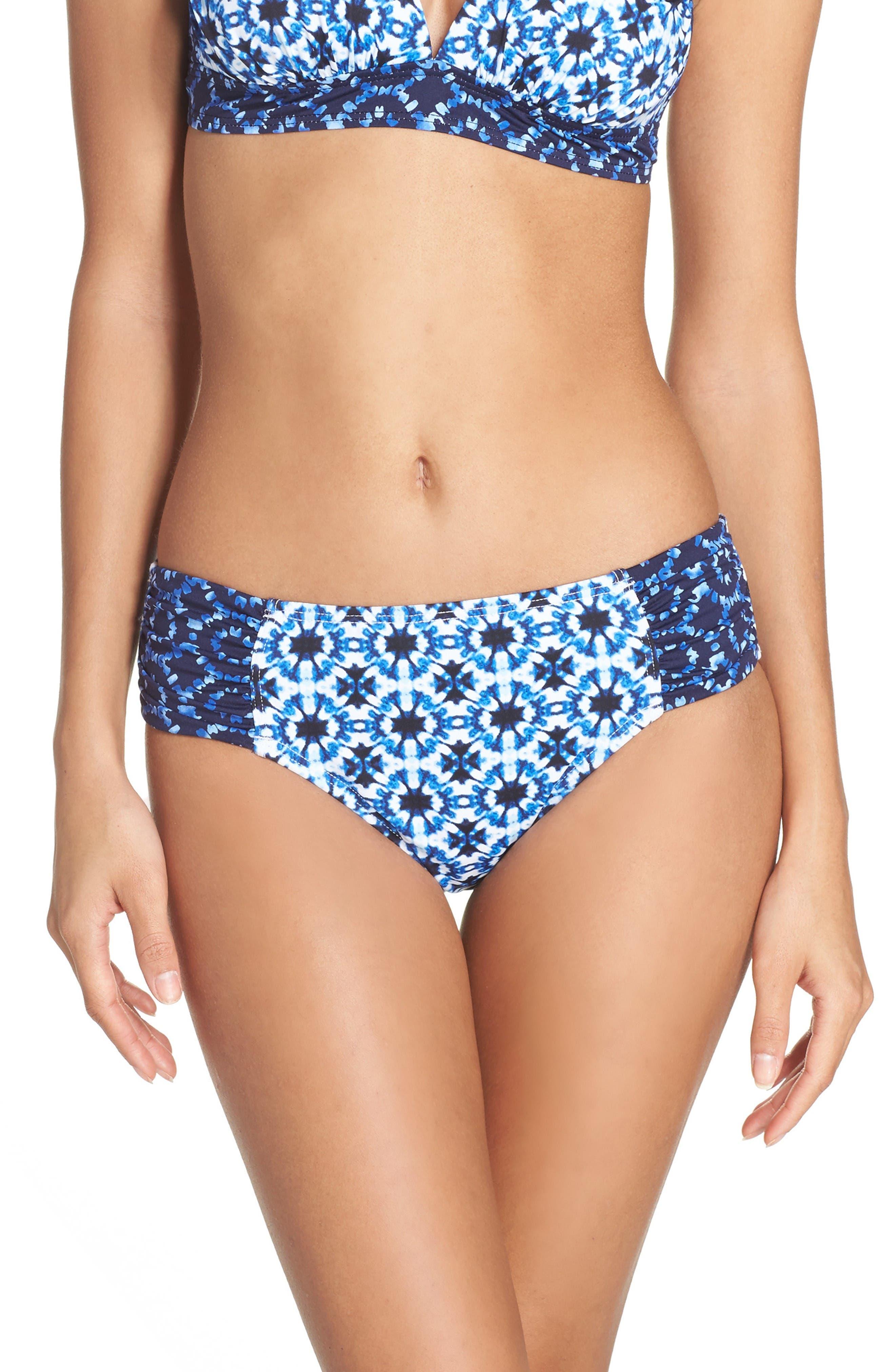 TOMMY BAHAMA Shibori Hipster Bikini Bottoms