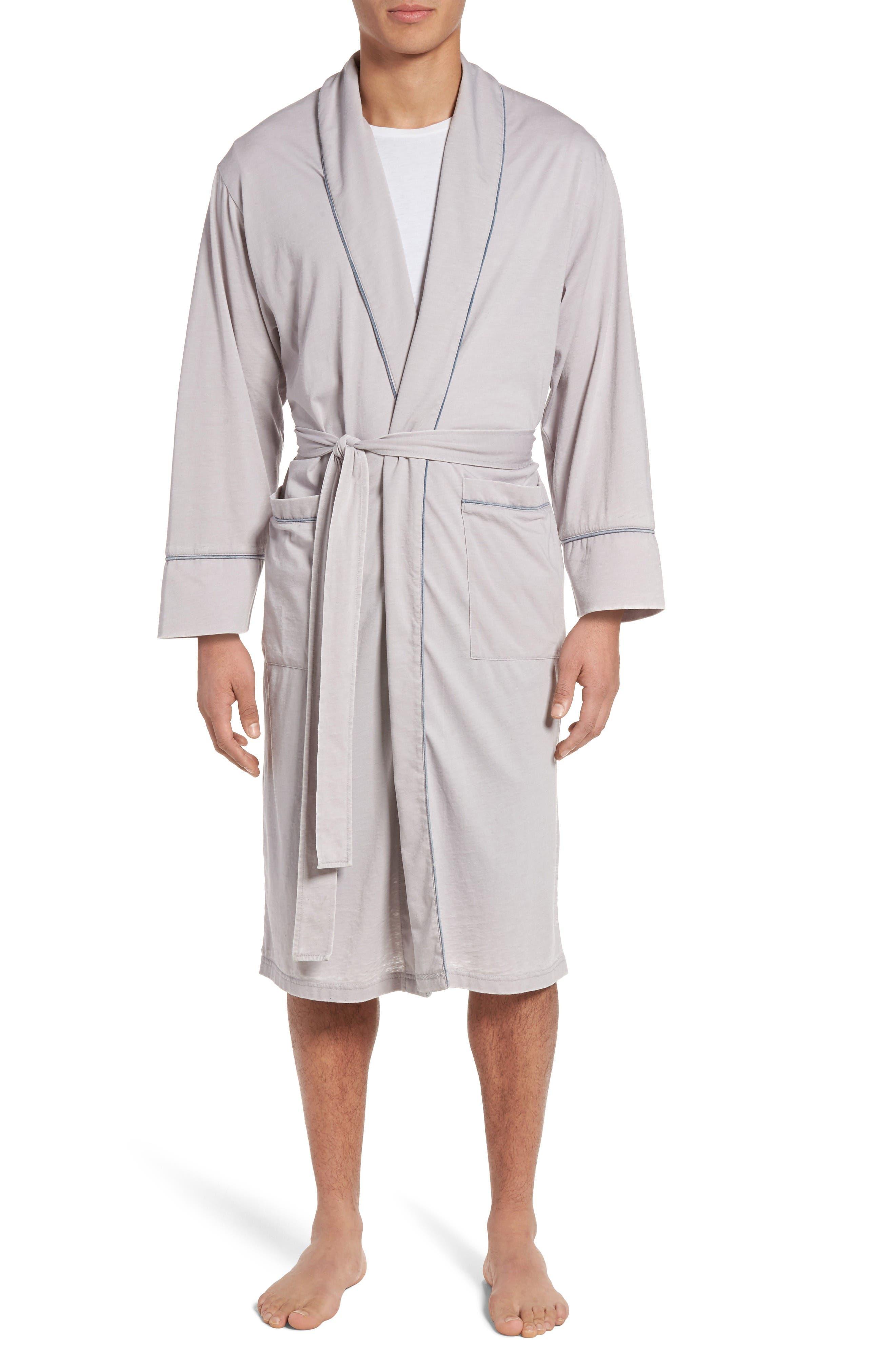 Daniel Buchler Burnout Cotton Blend Robe