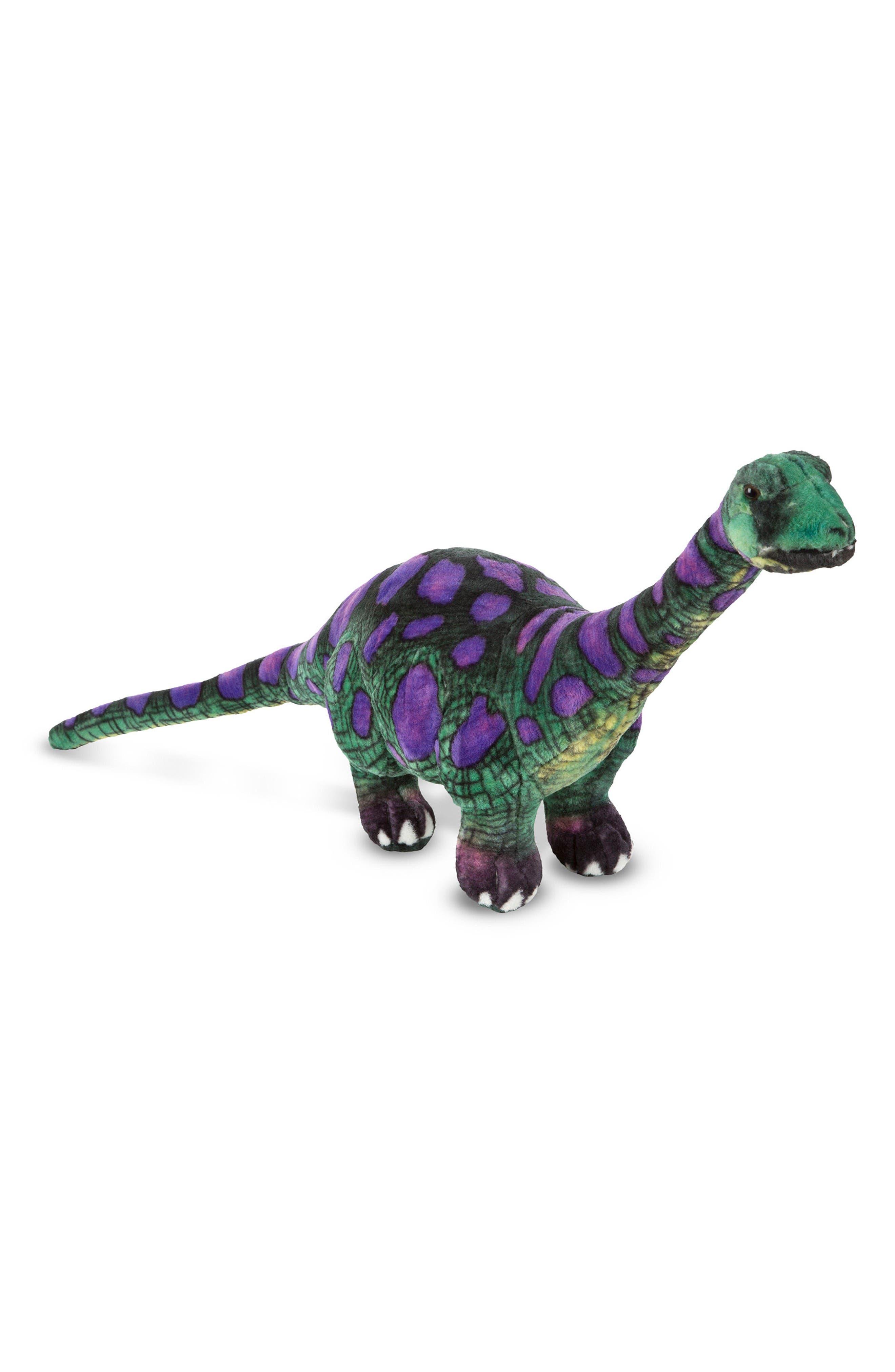 Apatosaurus Stuffed Animal,                         Main,                         color, Multi