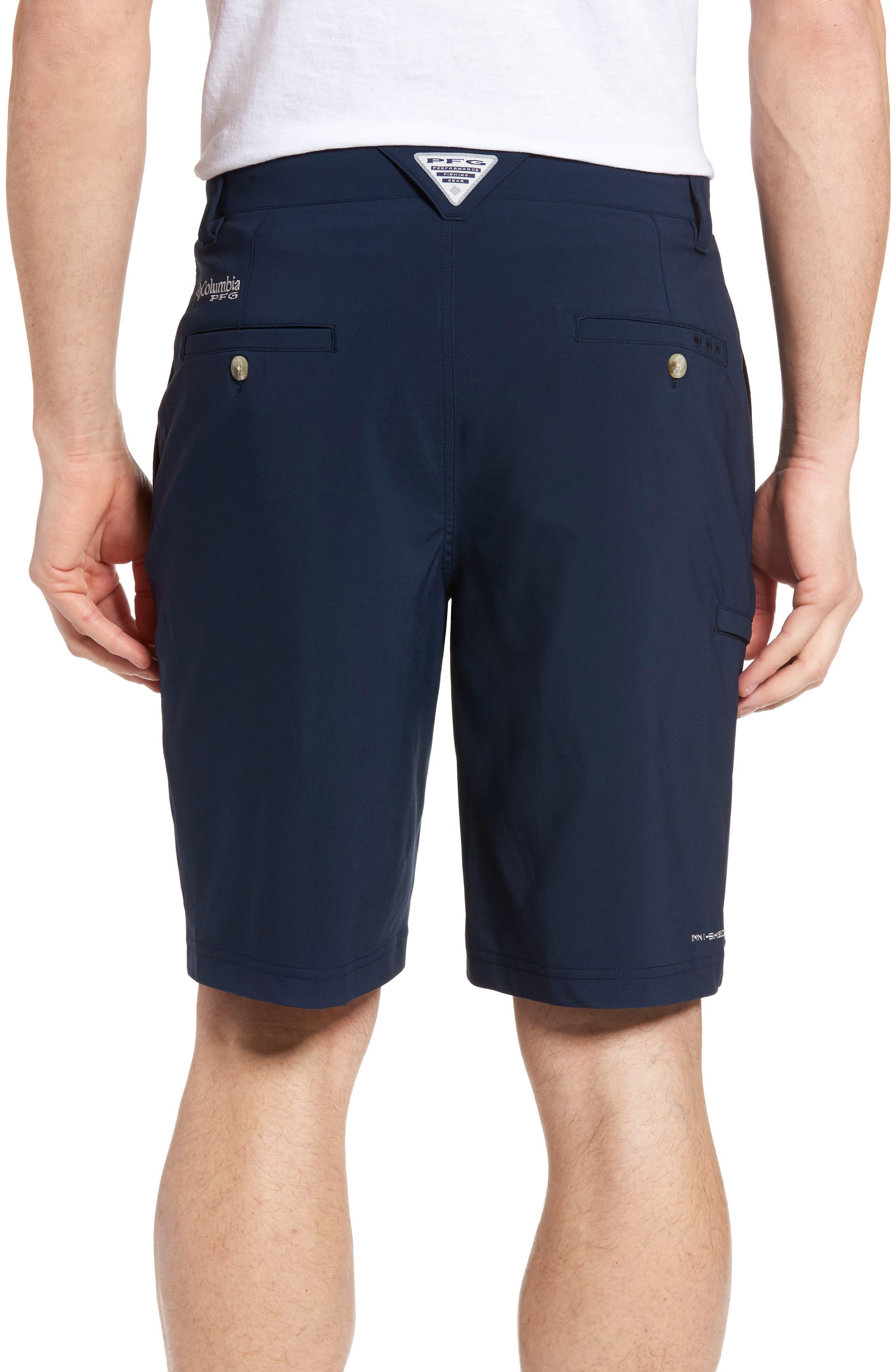 PFG Grander Marlin II Shorts,                             Alternate thumbnail 2, color,                             Collegiate Navy