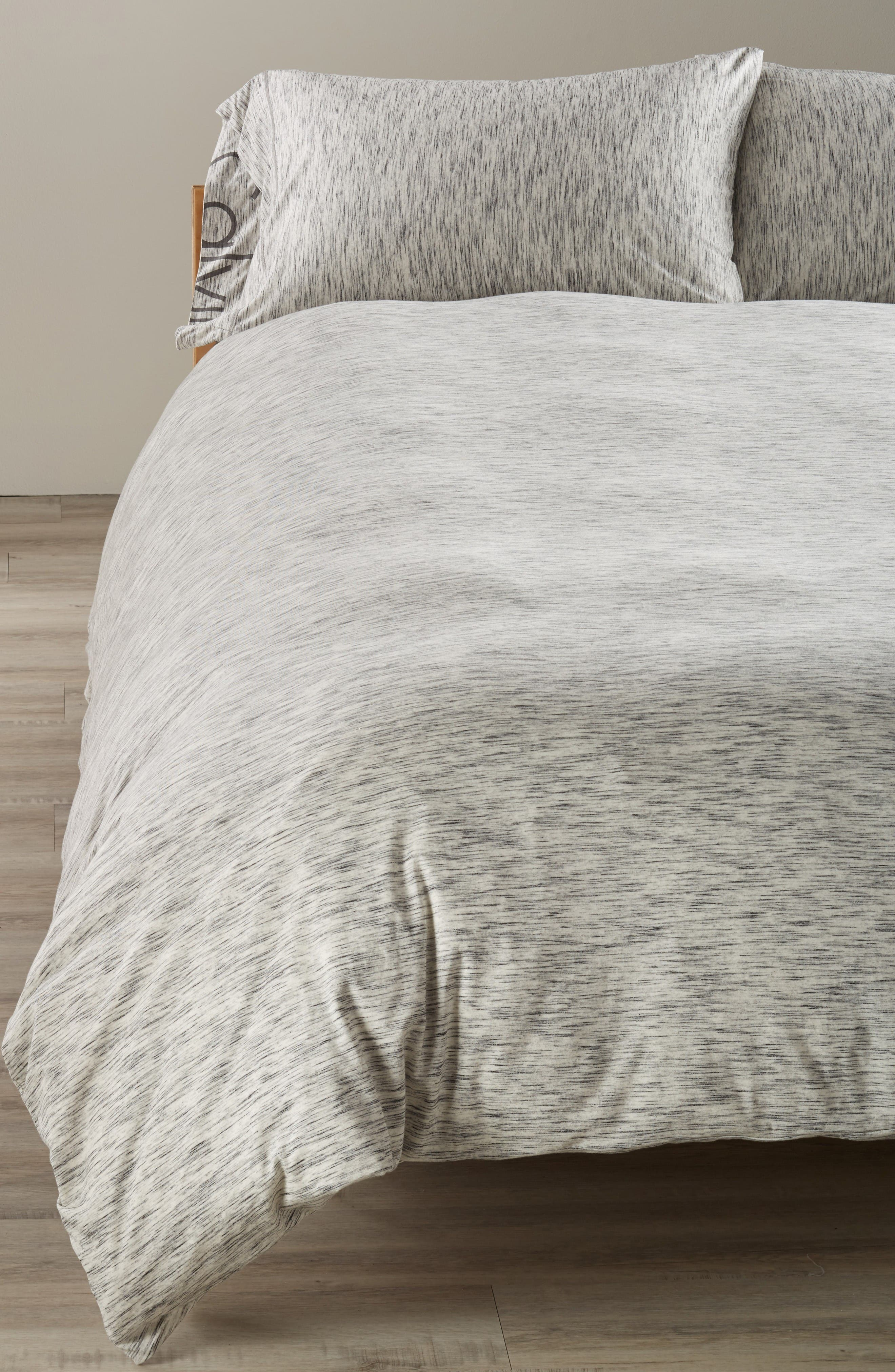 Calvin Klein Strata Duvet Cover,                             Main thumbnail 1, color,                             Marble