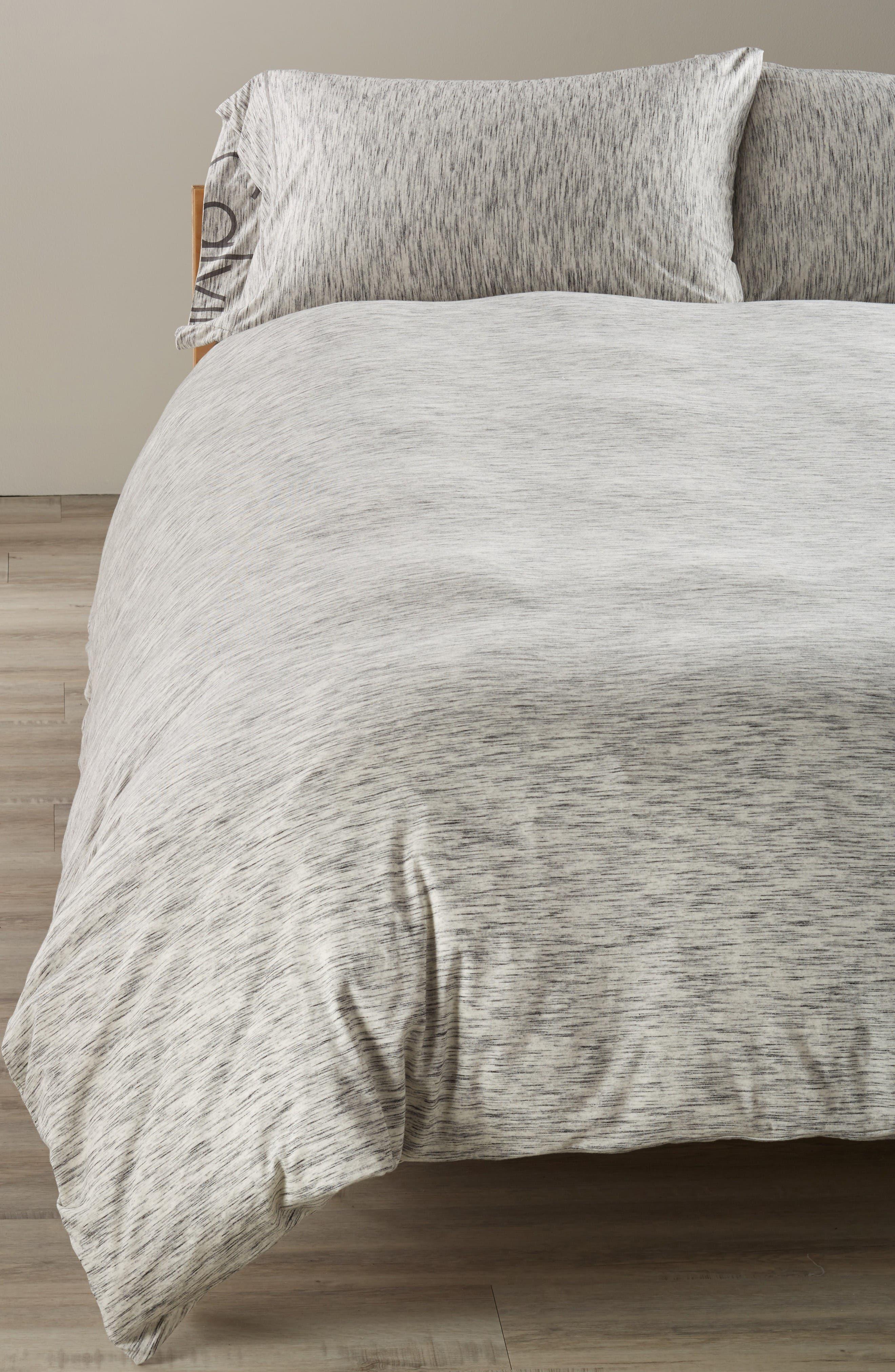 Main Image - Calvin Klein Strata Duvet Cover