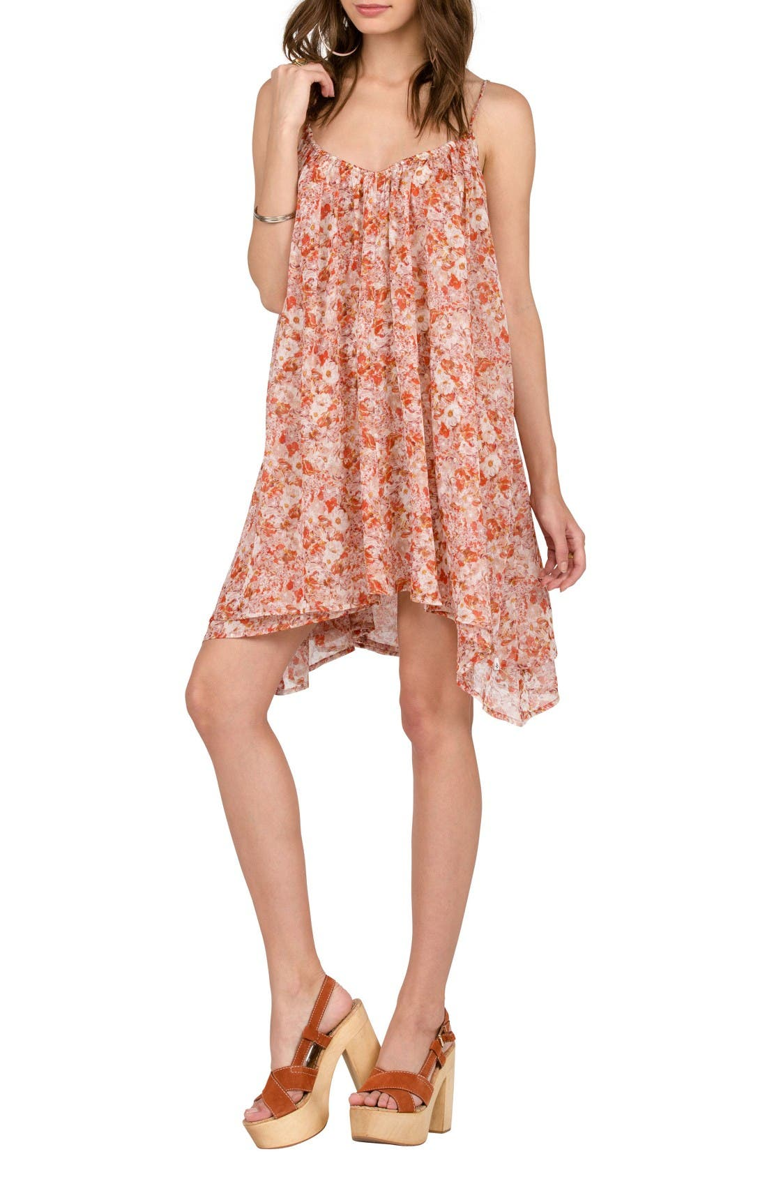 Alternate Image 1 Selected - Volcom Laying Low Print Swing Dress